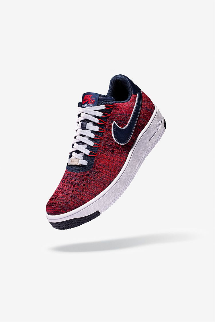 1f64d9718a Low Air Flyknit amp; Force Red Navy Ultra Nike 1 'university Rkk X6ZqXB1x