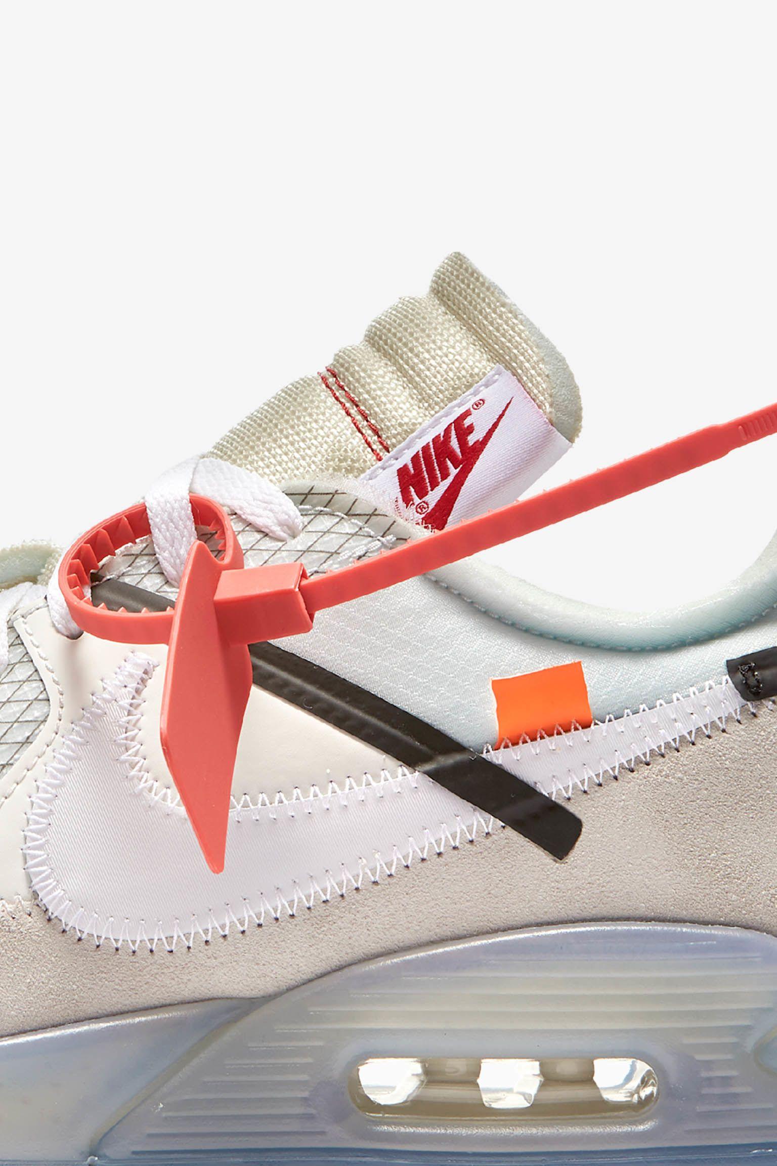Nike Max 90 Air Date Ten The White « Sortie La » De Nike Off xSx1qOBaw
