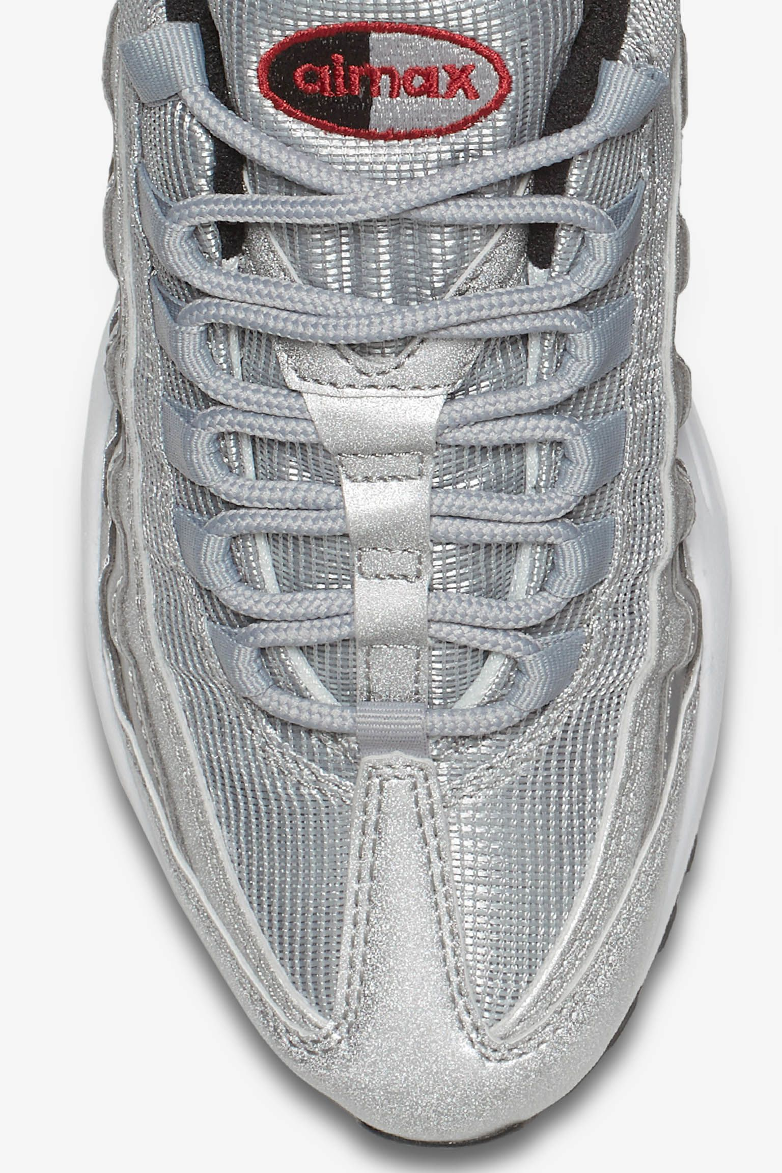 » Air Metallic « Nike Silver Femme Nike Max 95 Pour xYdRxawqn