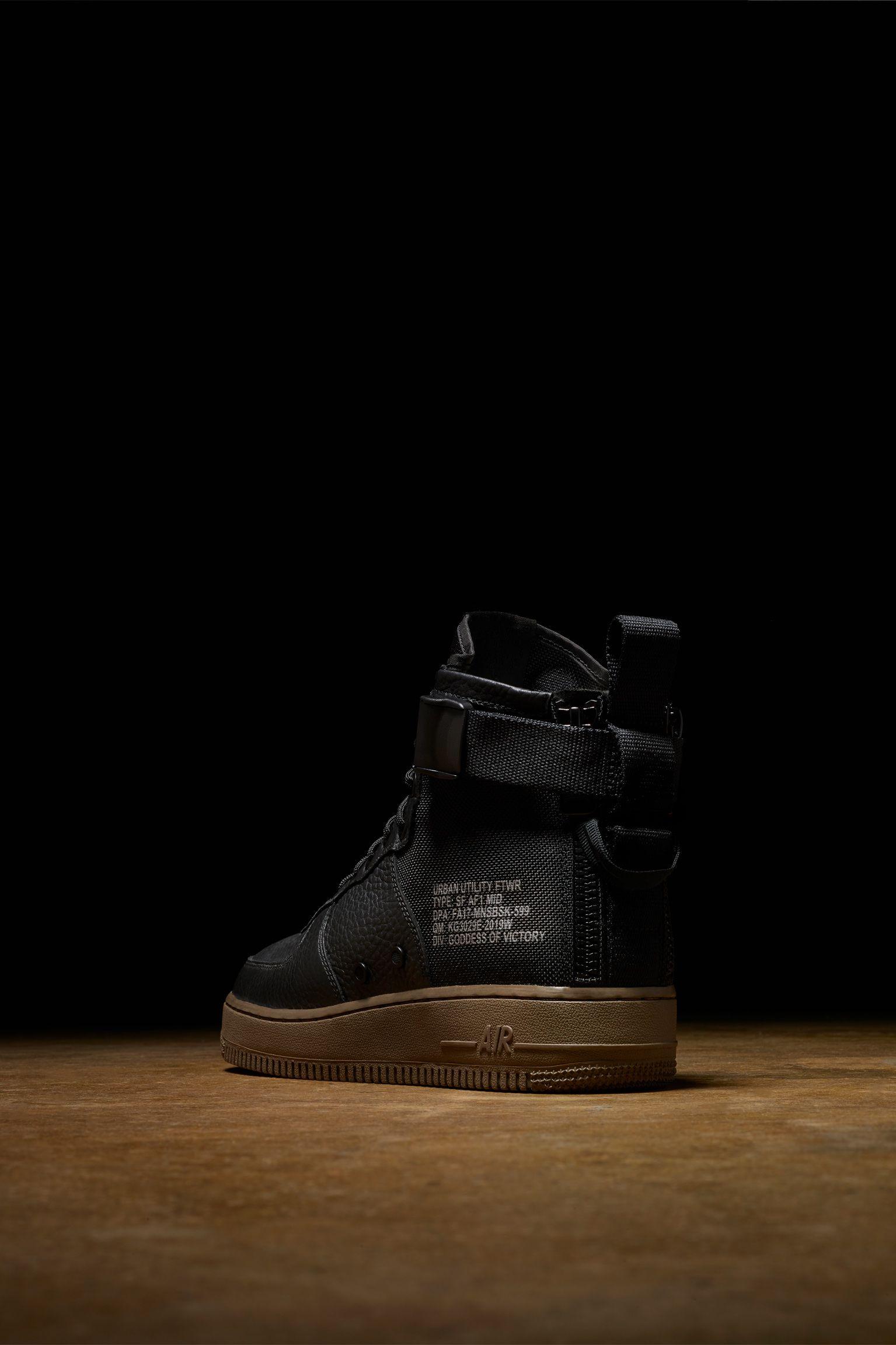 Nike Af 1 Sf 'blackamp; Mid Dark Hazel'Nike YWEH9ebD2I