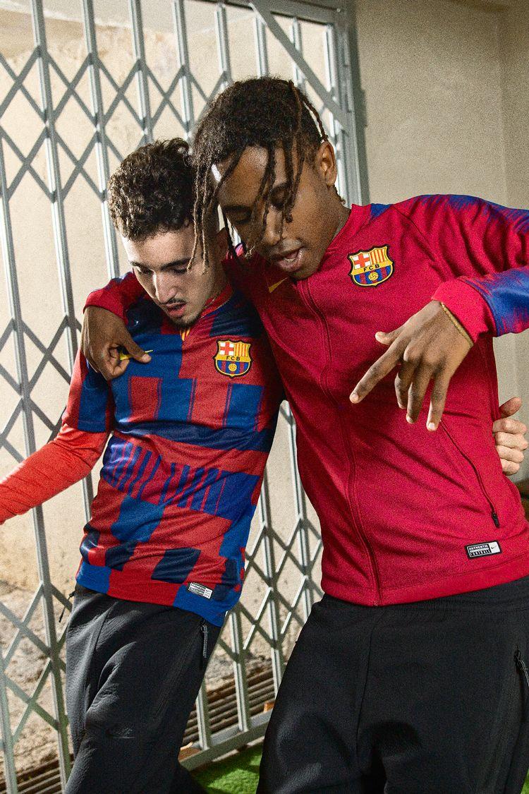 Fc 20 Aniversario Barcelona Camiseta Nike XfqXT