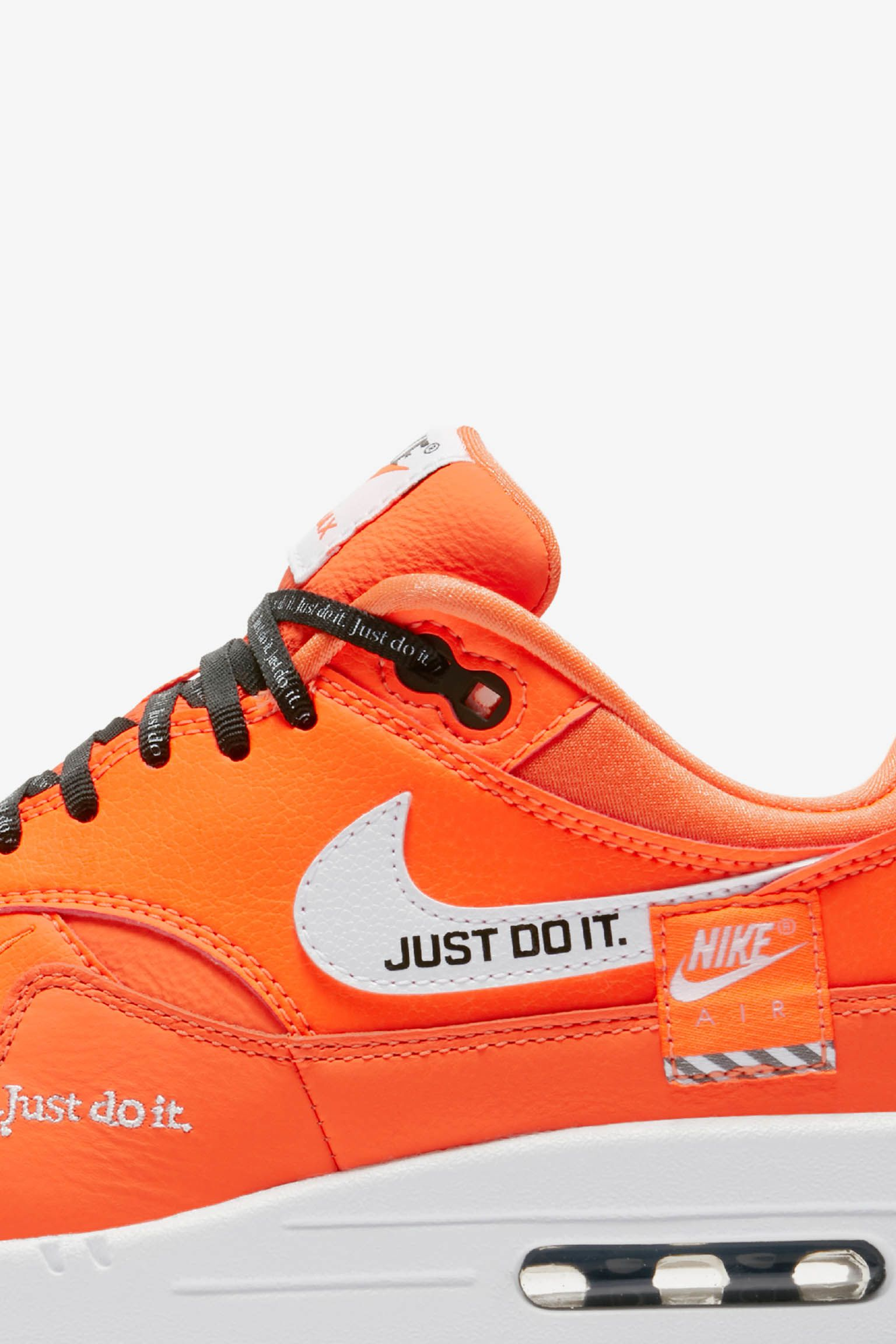 new concept 15b36 3c0fb  Total Just It Release 1 amp  Do Blanc  Nike Air Collection Max Orange  qw7COT