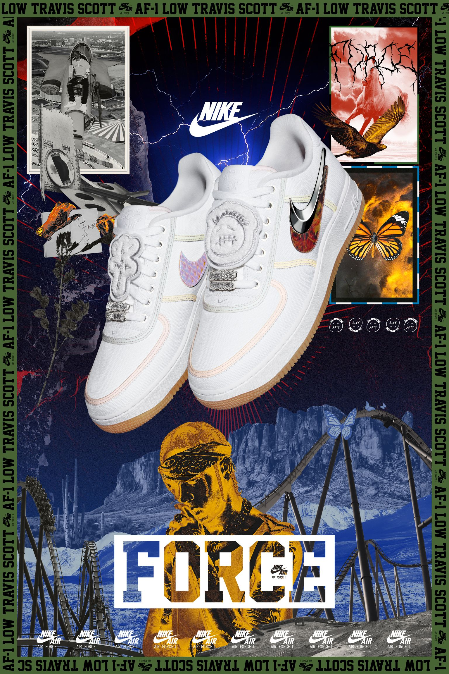 Scott Nike Lancio Air Data Travis Nike Force Del 1 IpWIn