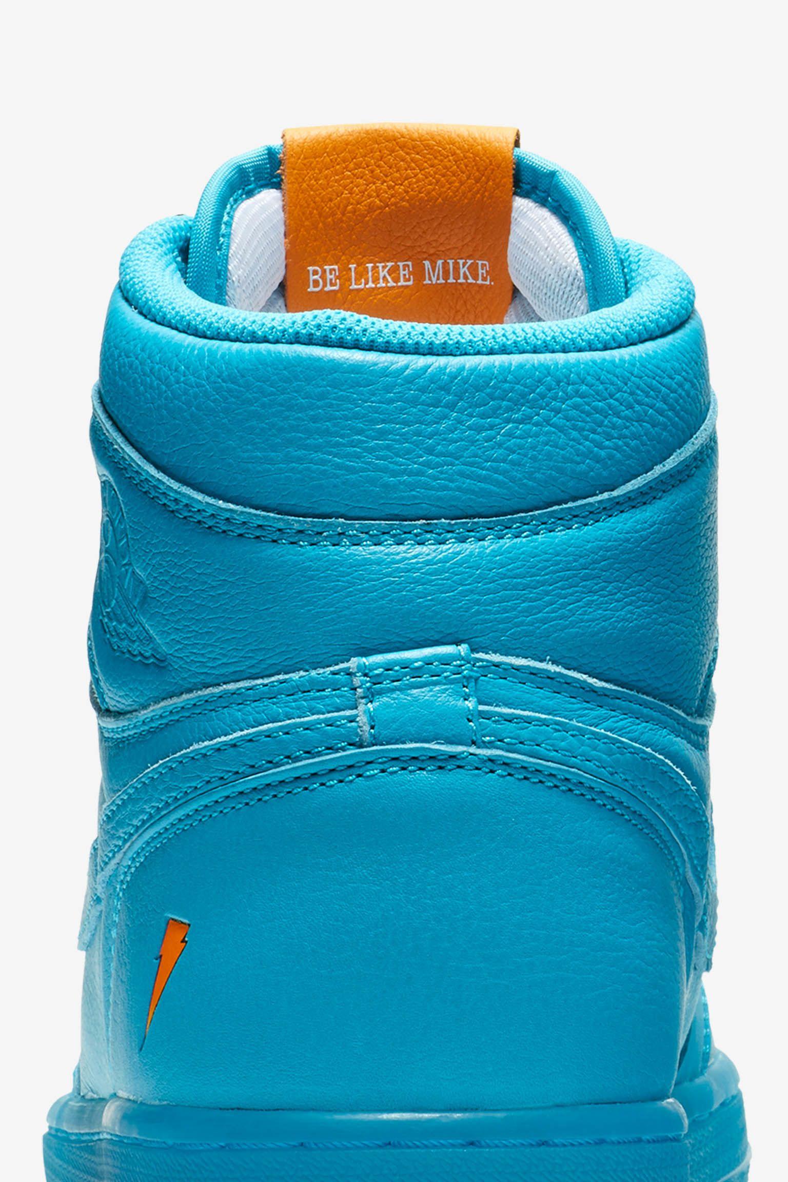 Air Jordan 1 High Gatorade 'Cool Blue' Release Date