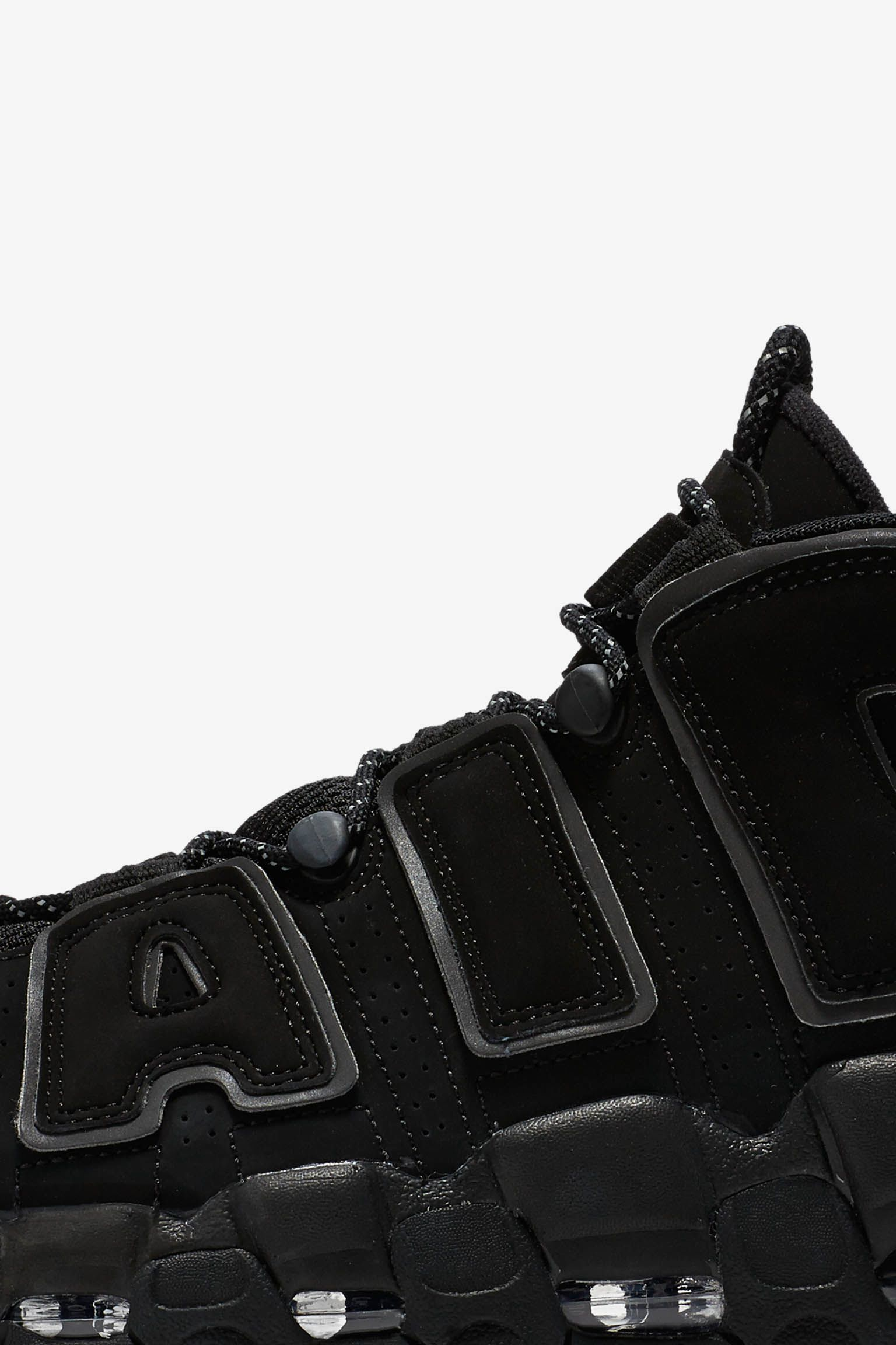 Nike Air More Uptempo 'Triple Black' 2017