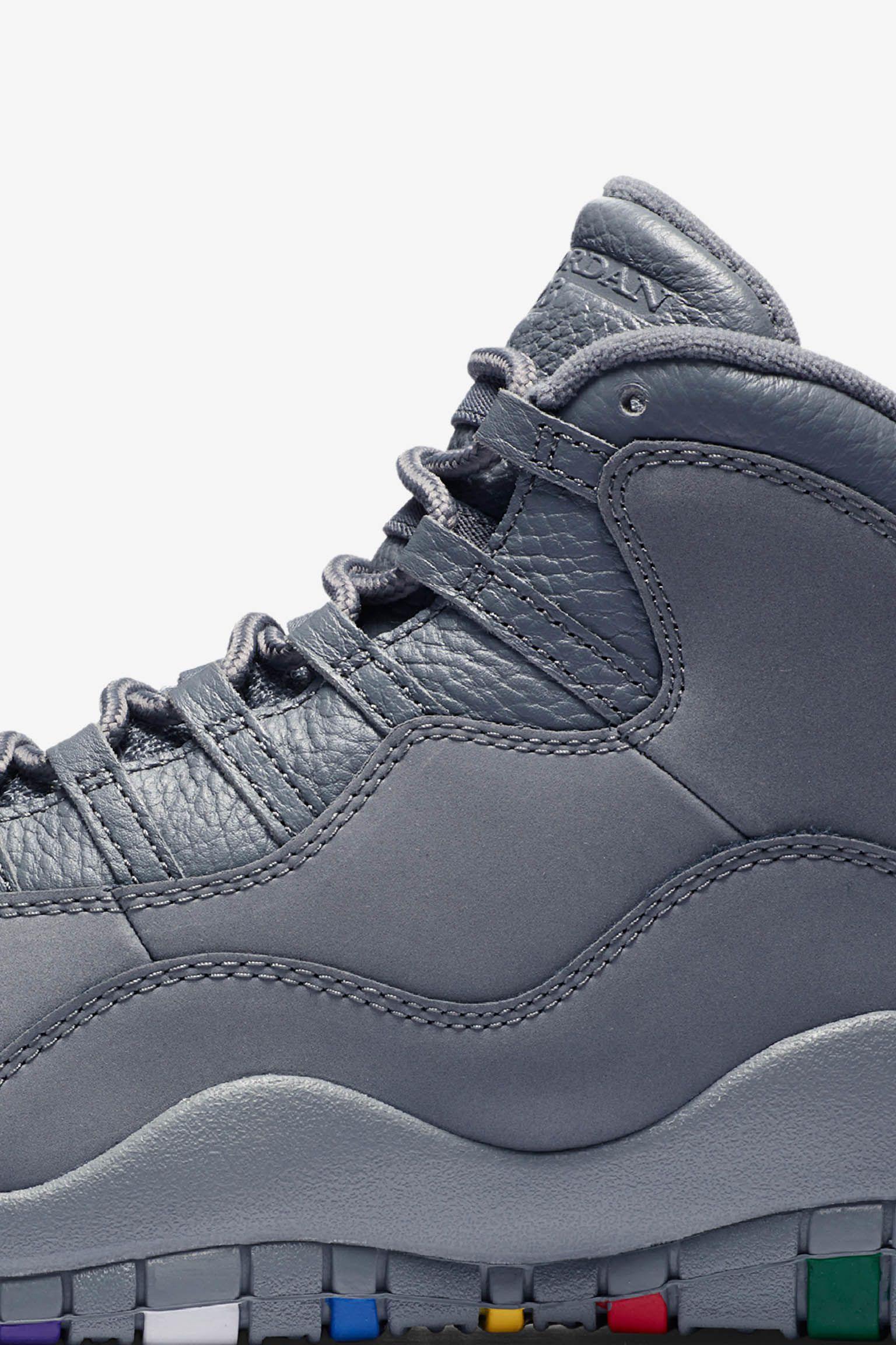 Air Jordan 10 Cool Grey Release Date Nike Snkrs