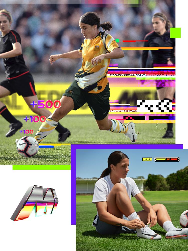 Sam Kerr LVL Up Profile