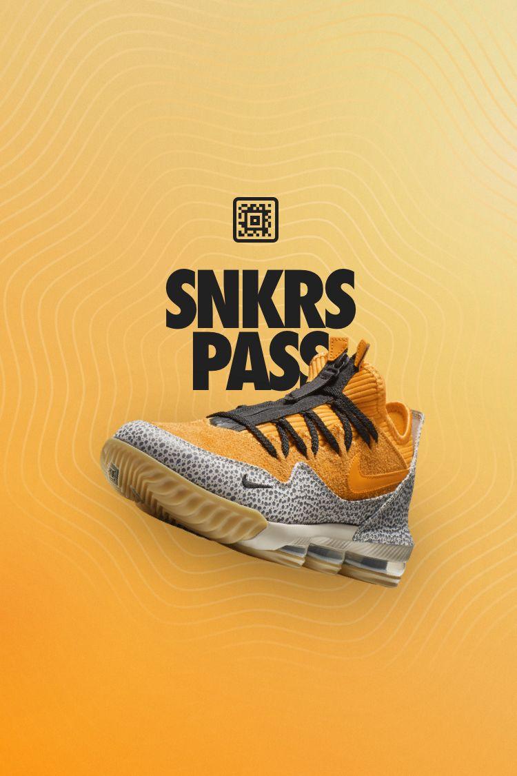 SNKRS Pass: LeBron 16 Low x atmos 'Safari' atmos New York