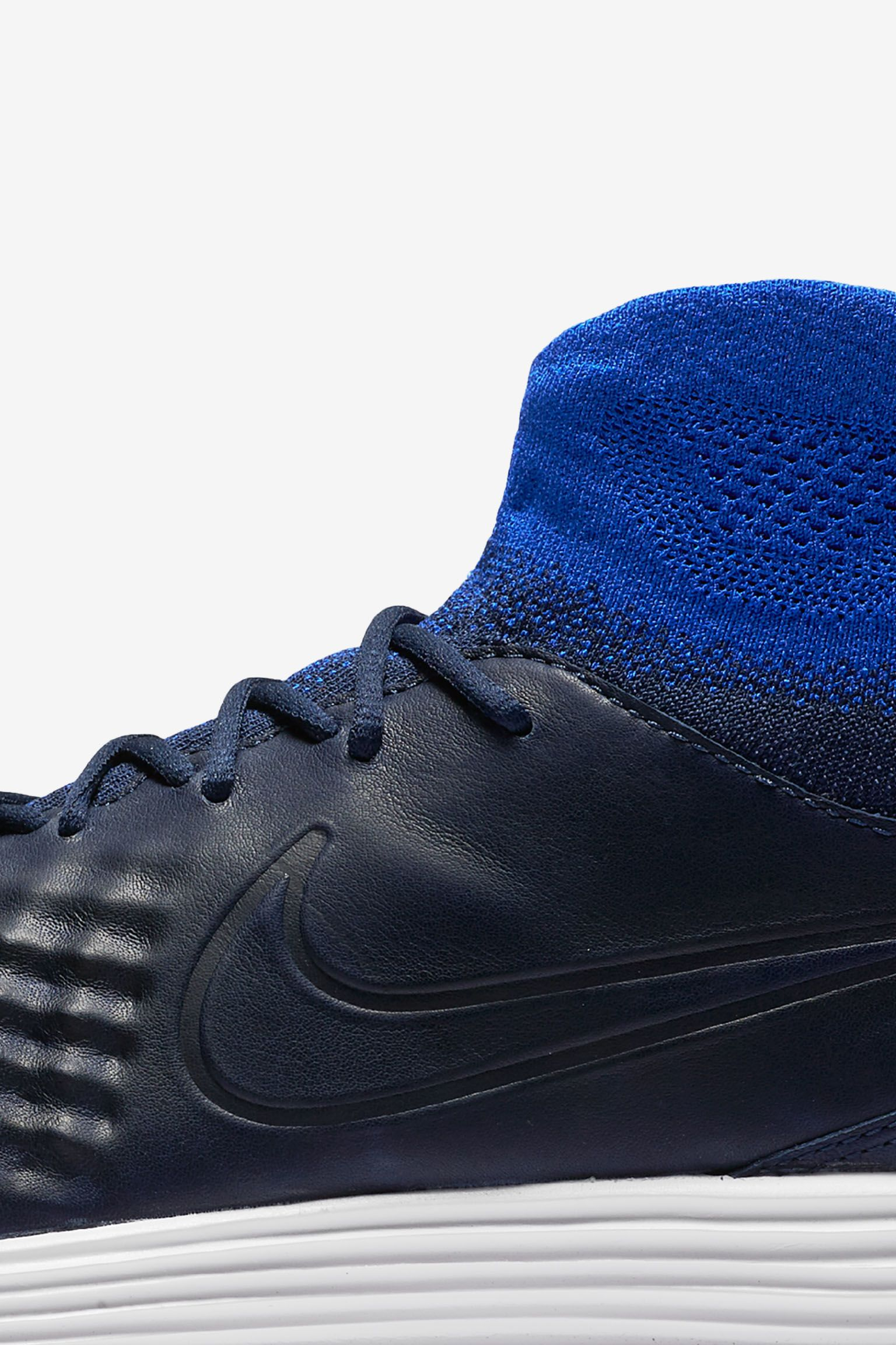 Nike Lunar Magista 2 Flyknit 'College Navy & Racer Blue'. Release Date