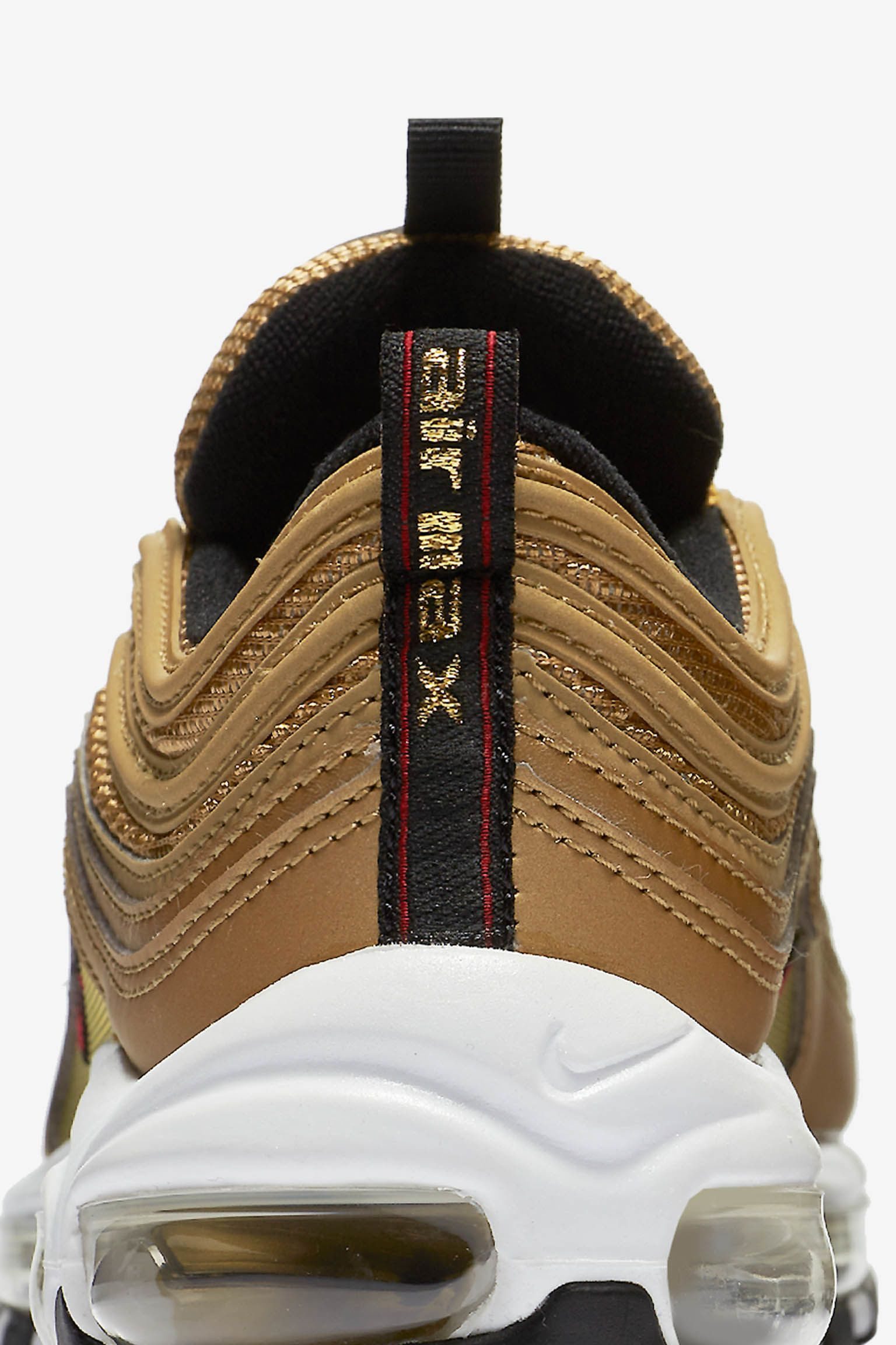 Women s Nike Air Max 97 OG QS  Metallic Gold  Release Date. Nike⁠+ SNKRS 2e94893dc85f
