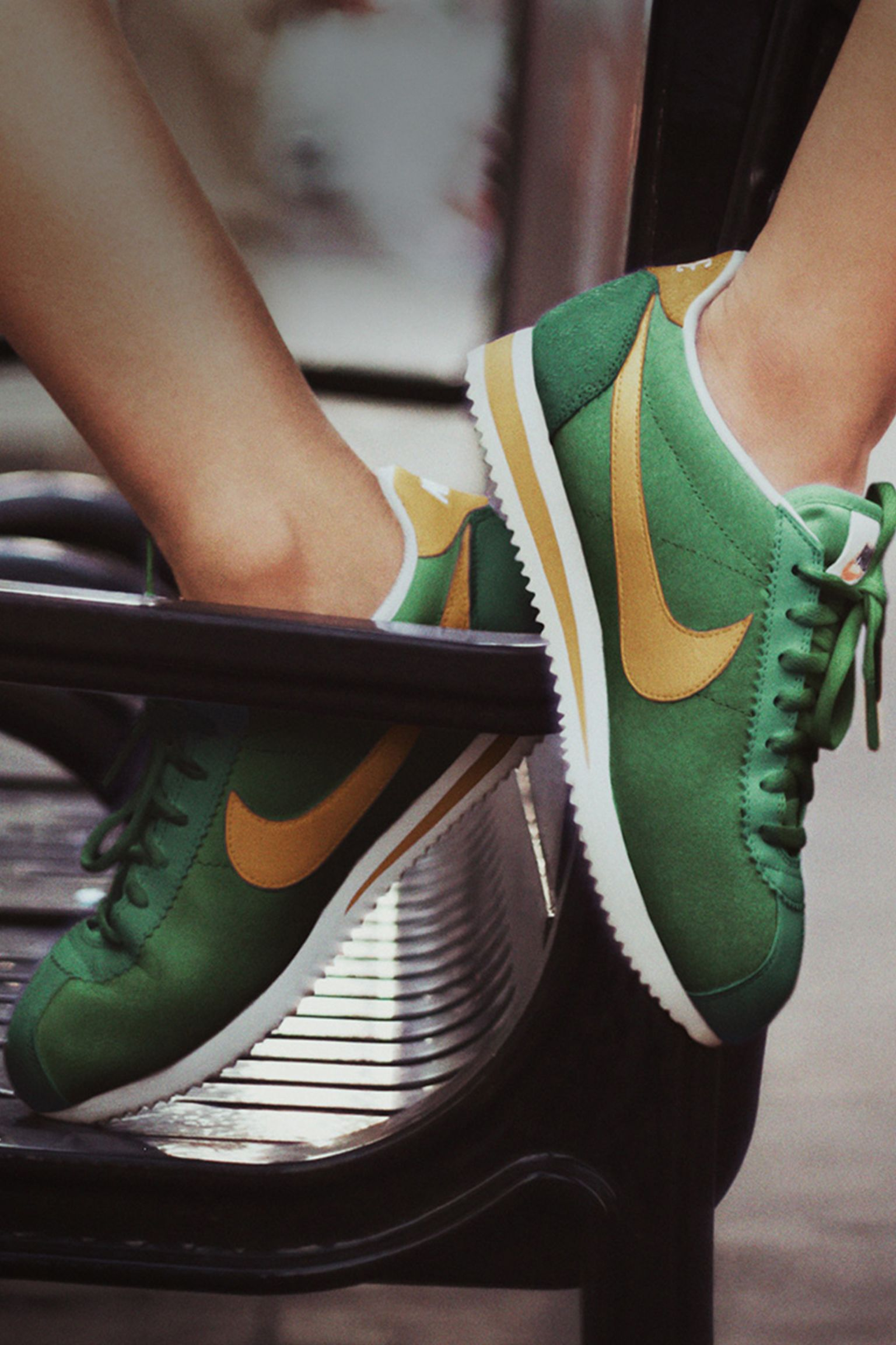 sports shoes b023d 09b91 purchase nike cortez yellow and green d2998 f0ec9
