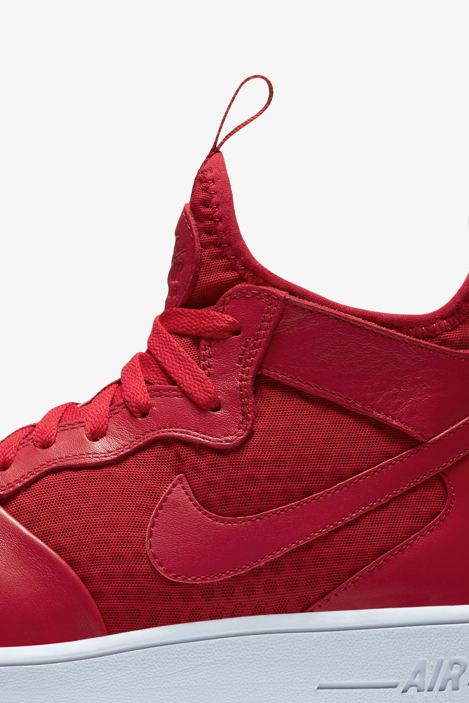 Nike Air Force 1 Ultra Force Mid 'Gym Red & White'