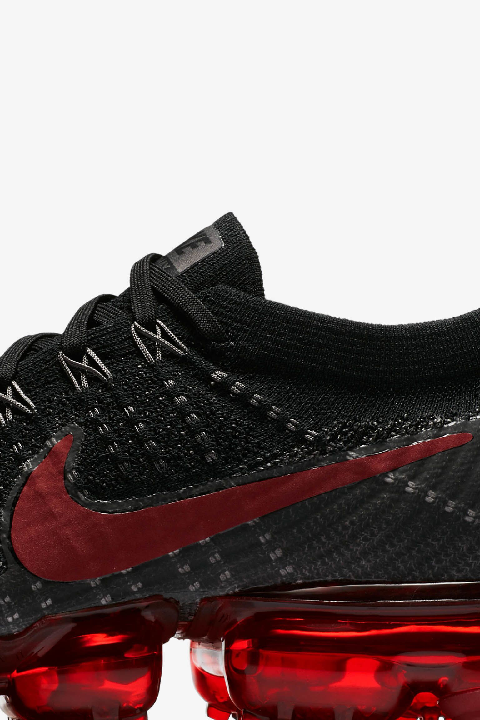 Nike Air VaporMax 'Black & Dark Team Red' Release Date