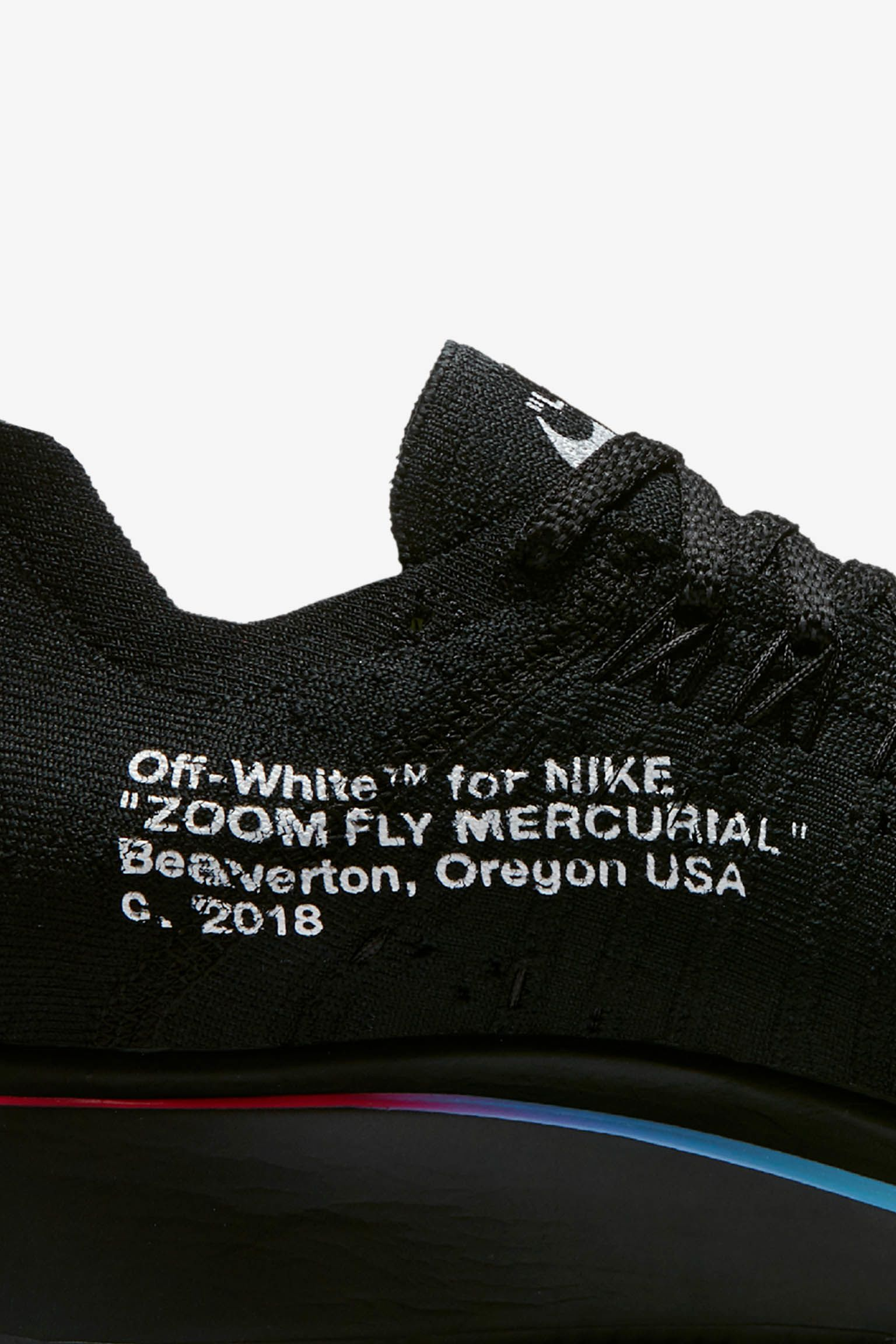 Nike Zoom Fly Mercurial Flyknit Off-White 'Black & White' Release Date