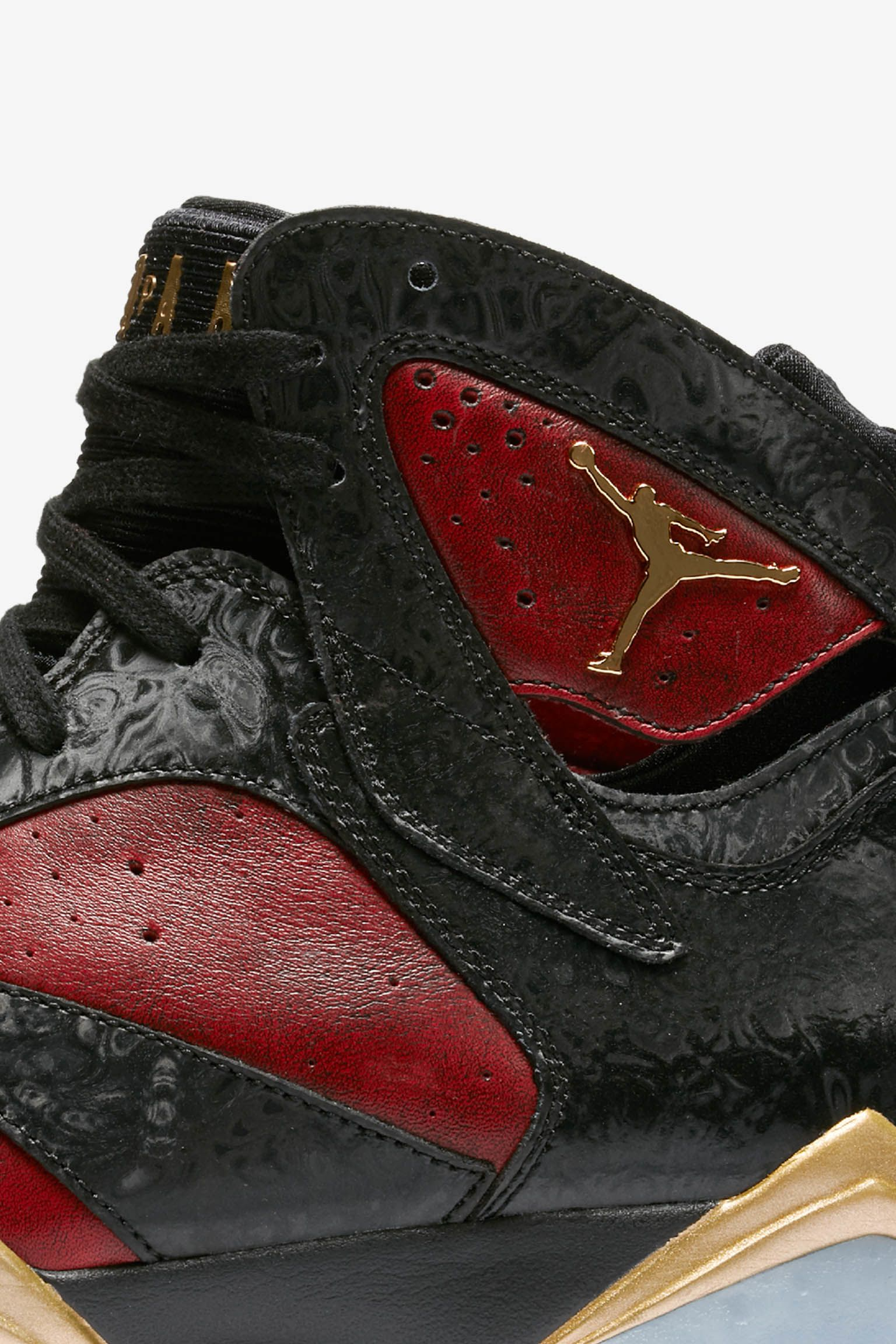 Air Jordan 7 Retro Doernbecher 'Black & University Red' Release Date