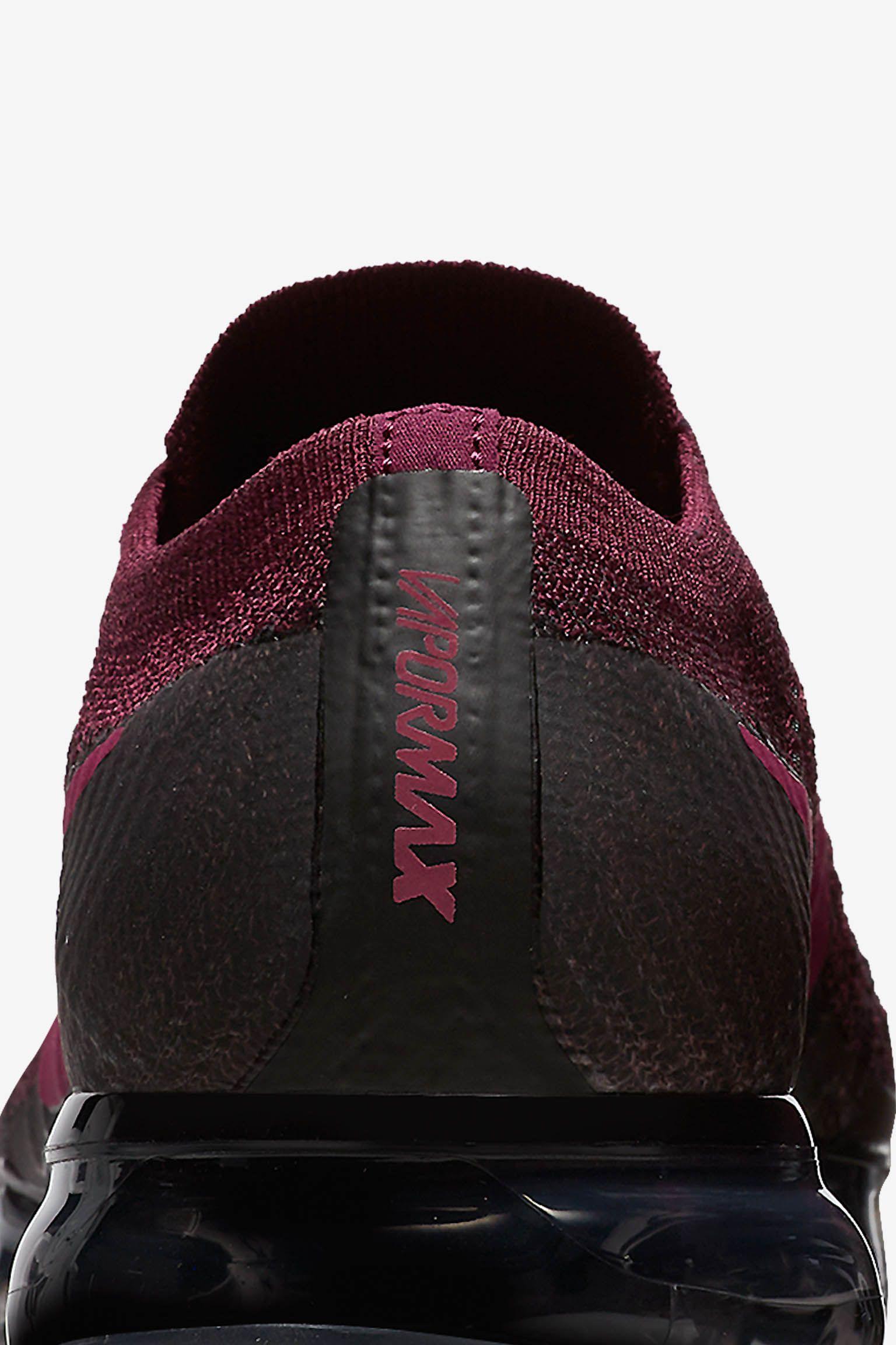 Women's Nike Air Vapormax 'Bordeaux & Black' Release Date