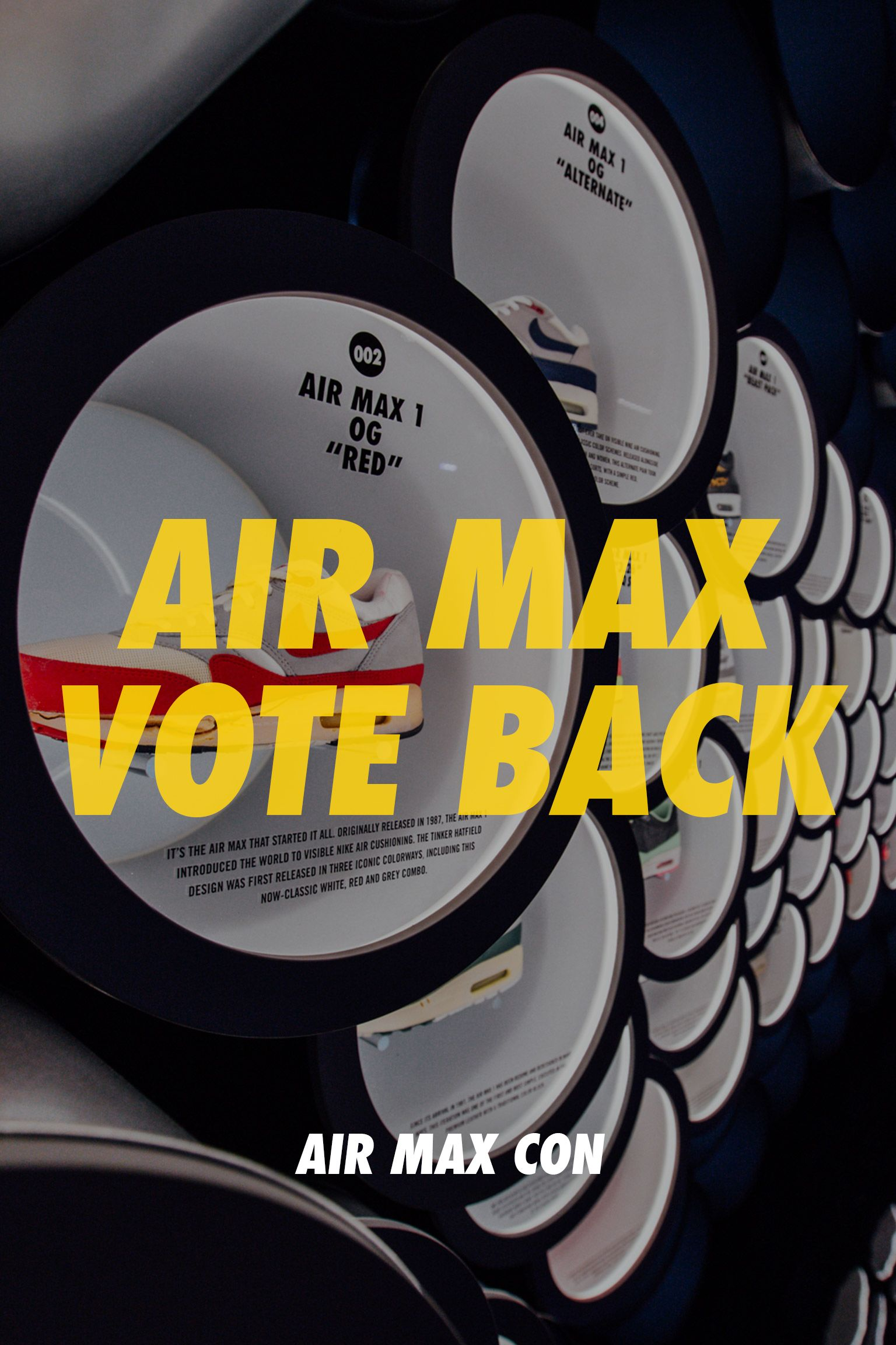Nike Air Max Con NYC: Vote Back