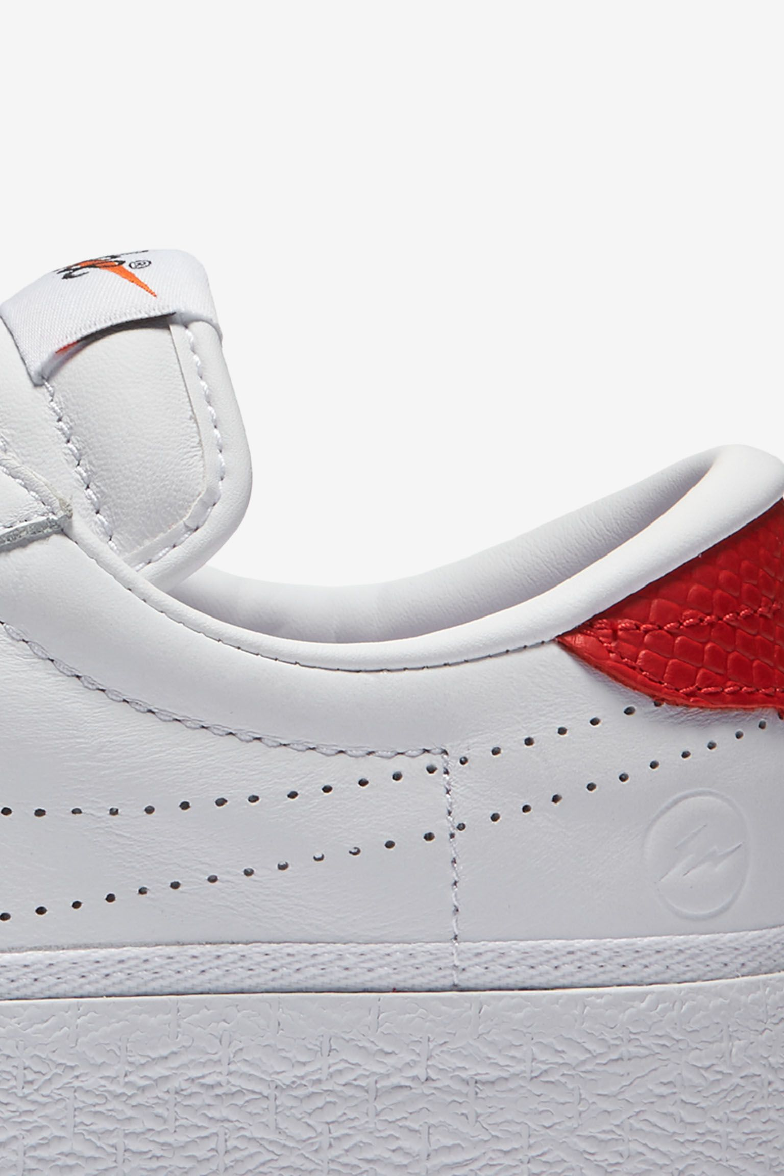 Women's NikeLab x Fragment Zoom Tennis Classic 'White & University Red'