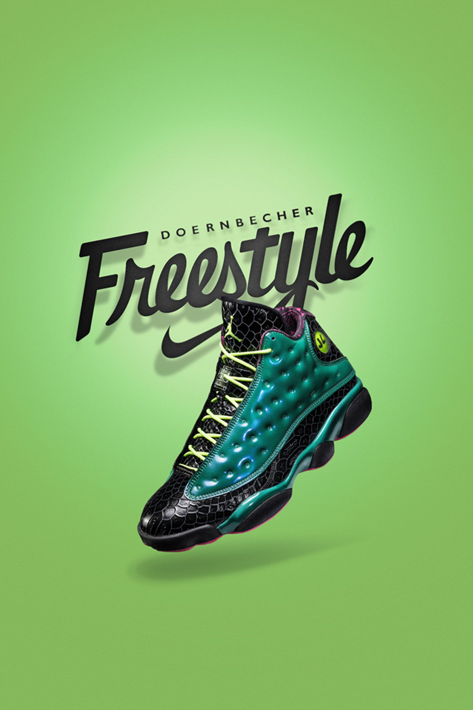 Air Jordan 13 Retro Doernbecher 'Emerald Green' Release Date