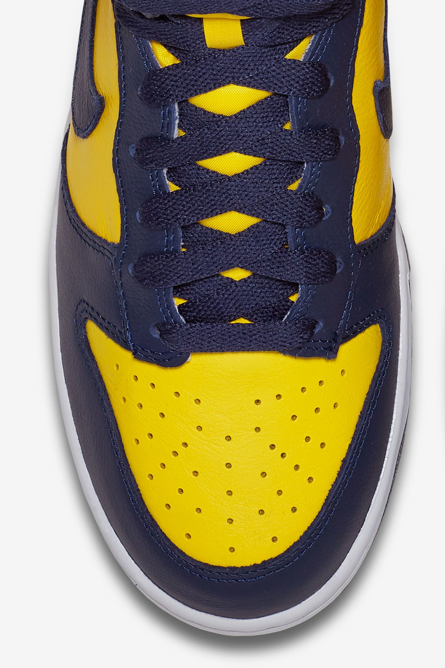 Nike College Colors Program: Nike Dunk High 'Michigan'