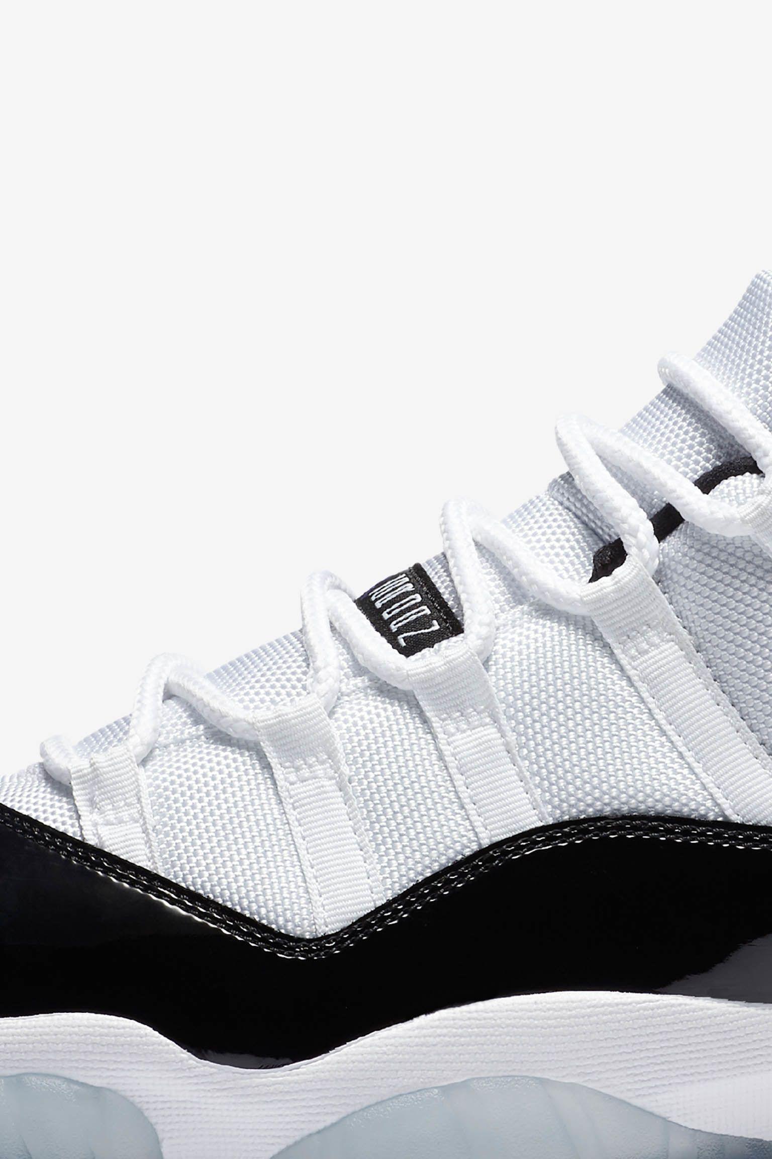 Air Jordan 11 Retro Low 'Concord'. Release Date