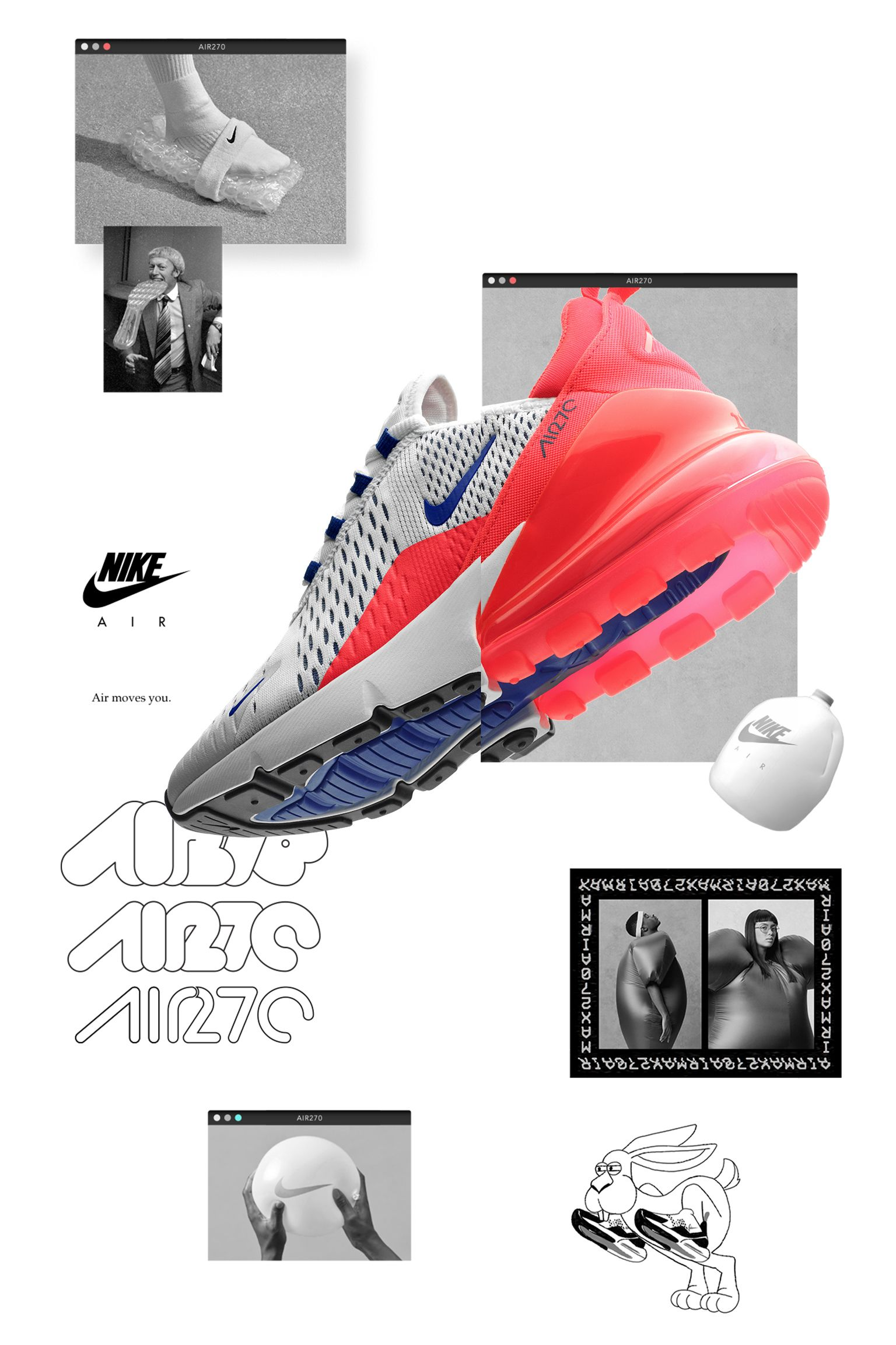 Nike Womens Air Max 270 'Ultramarine & Solar Red' Release Date