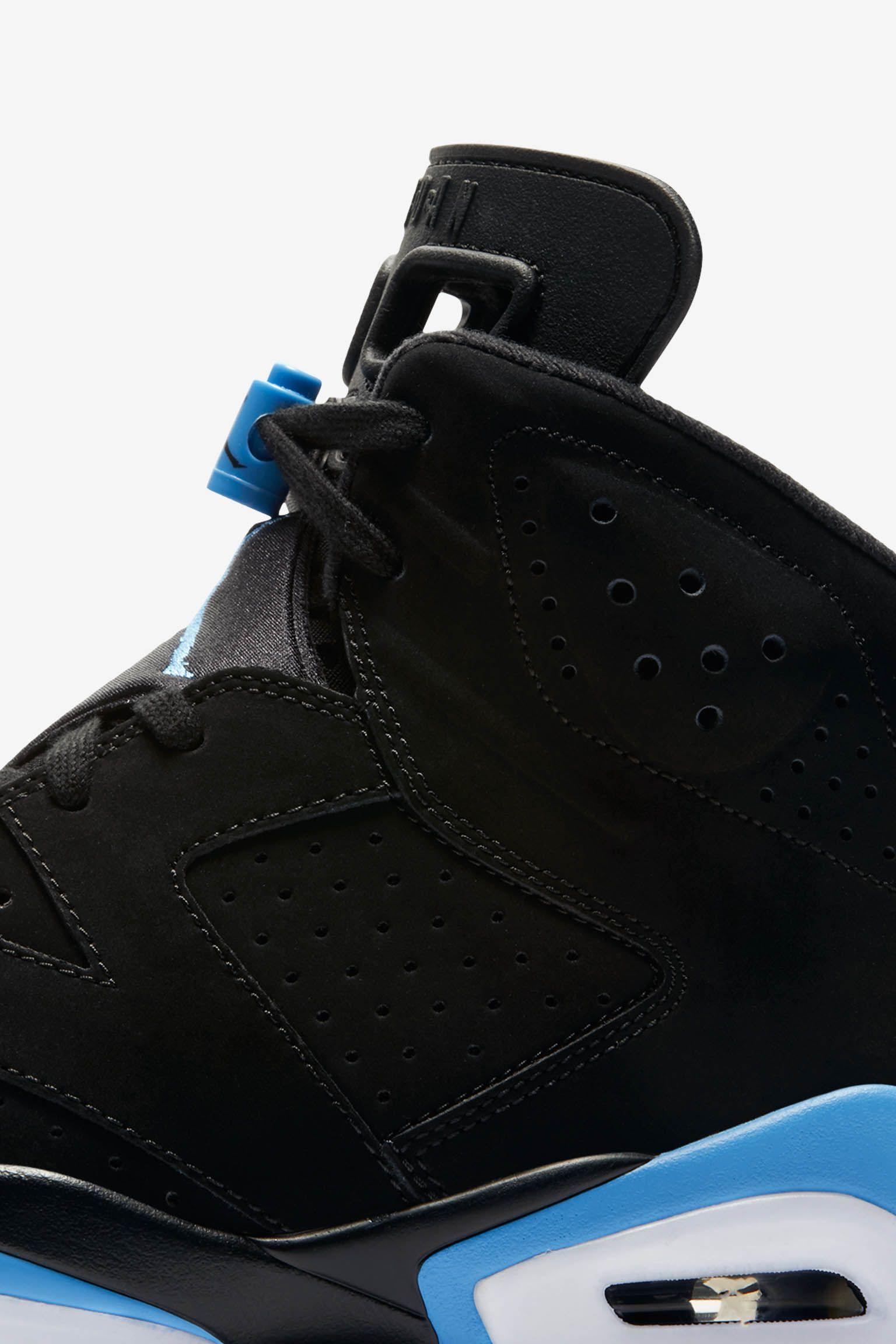 Air Jordan 6 'Black & University Blue' Release Date