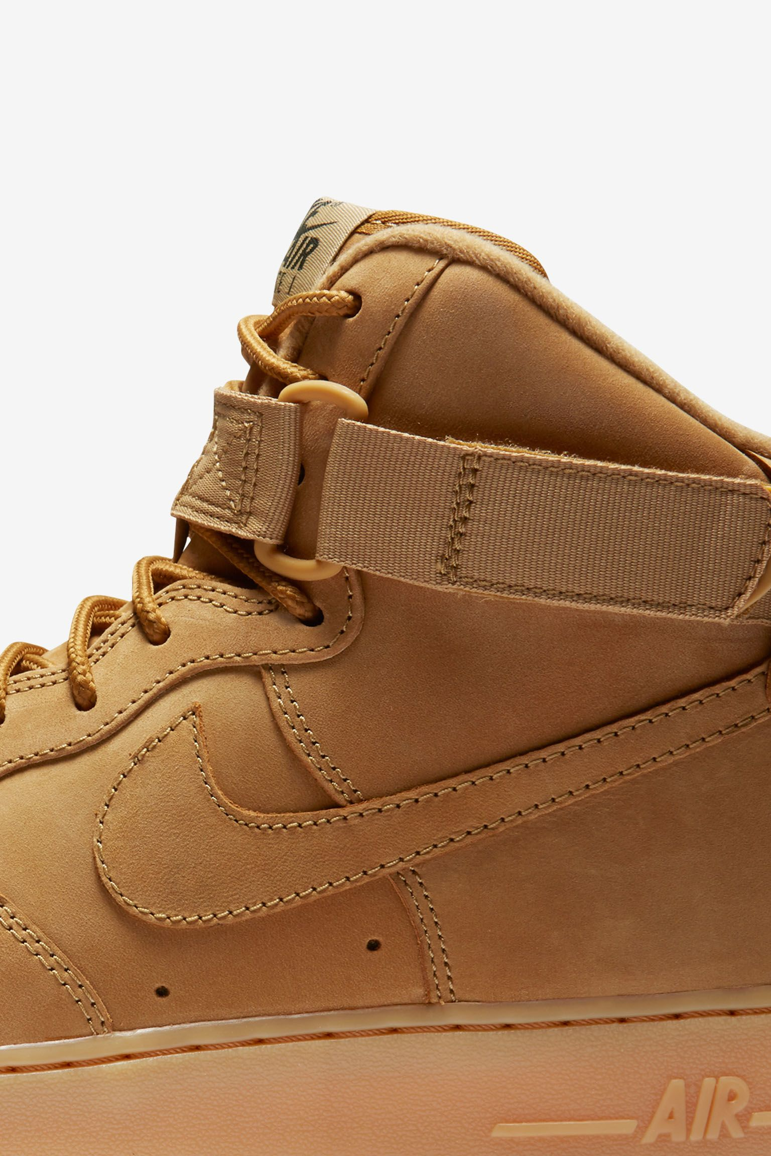 Nike Air Force 1 High Workboot 'Flax'.  Release date