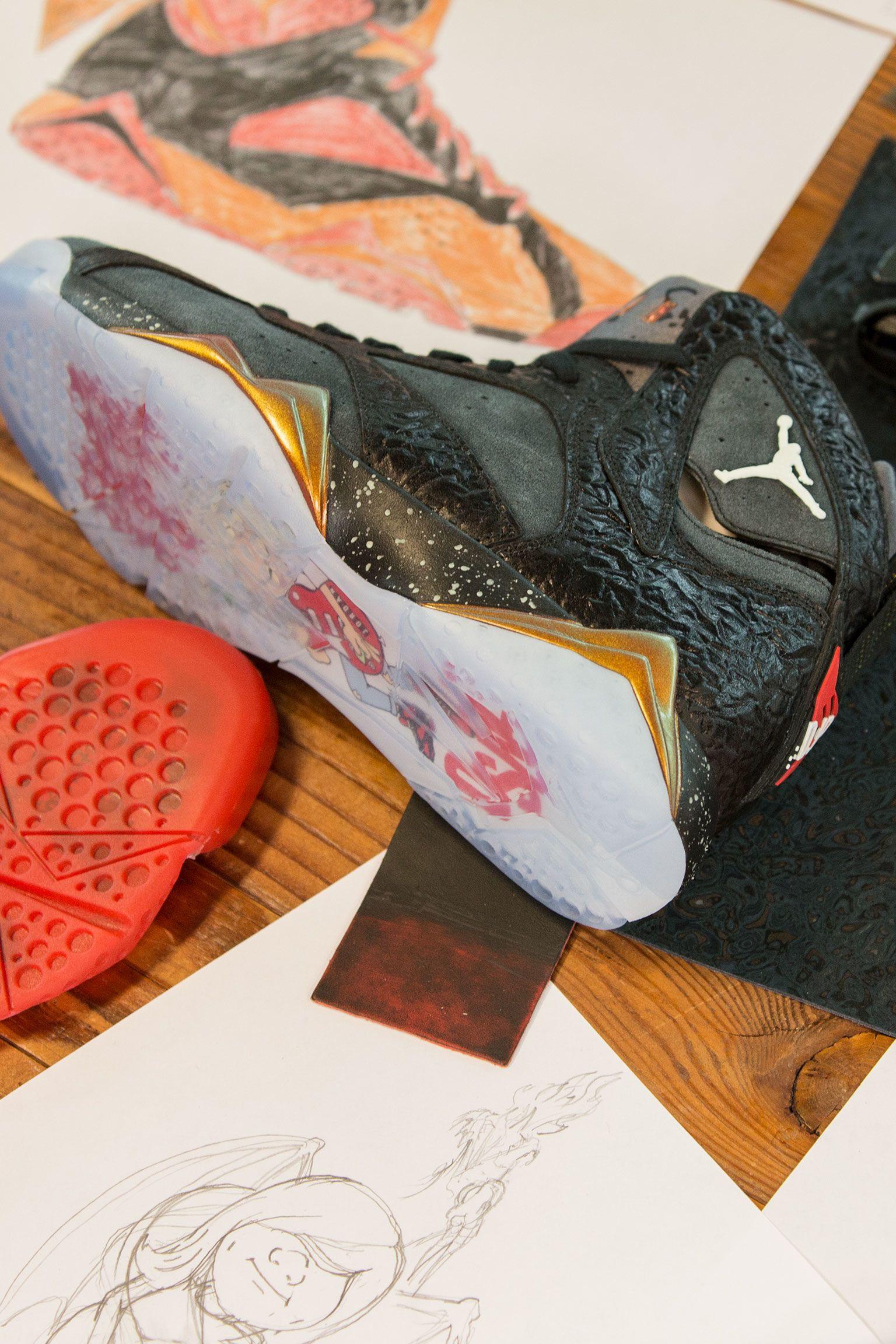 Behind the Design: Air Jordan 7 Retro Doernbecher 2016