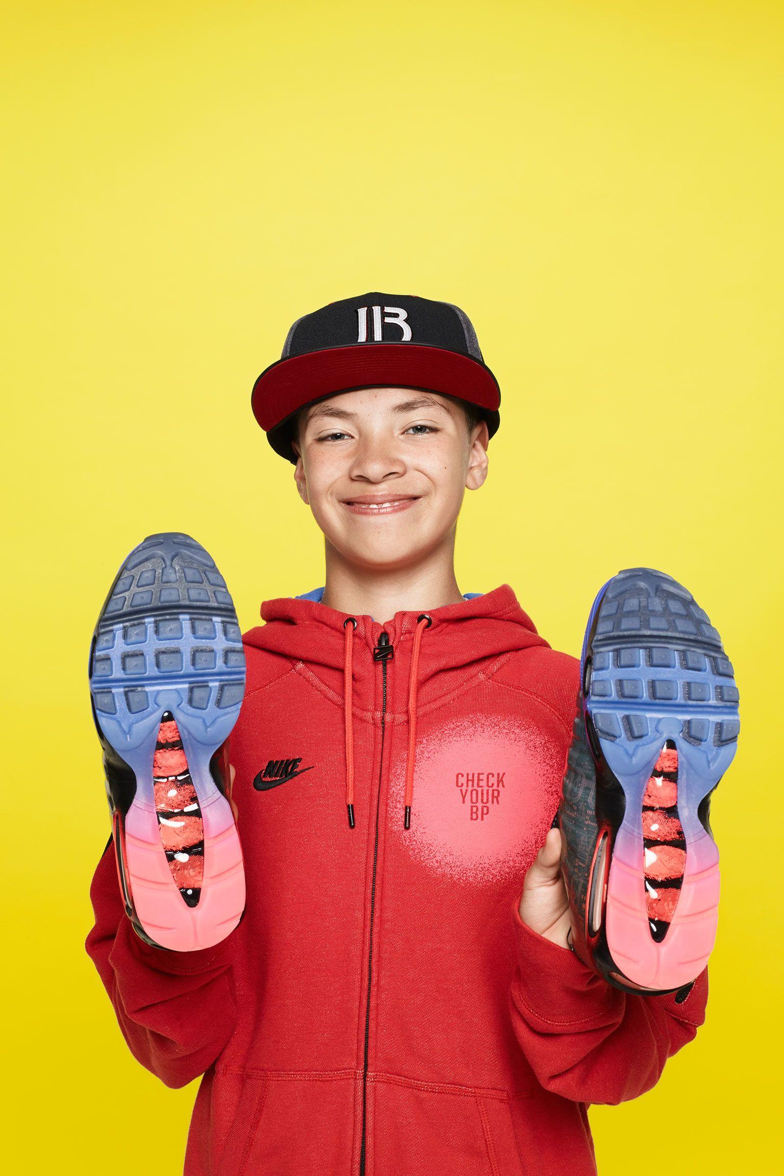 Nike Air Max 95 Premium Doernbecher 'Bright Crimson & Racer Blue'