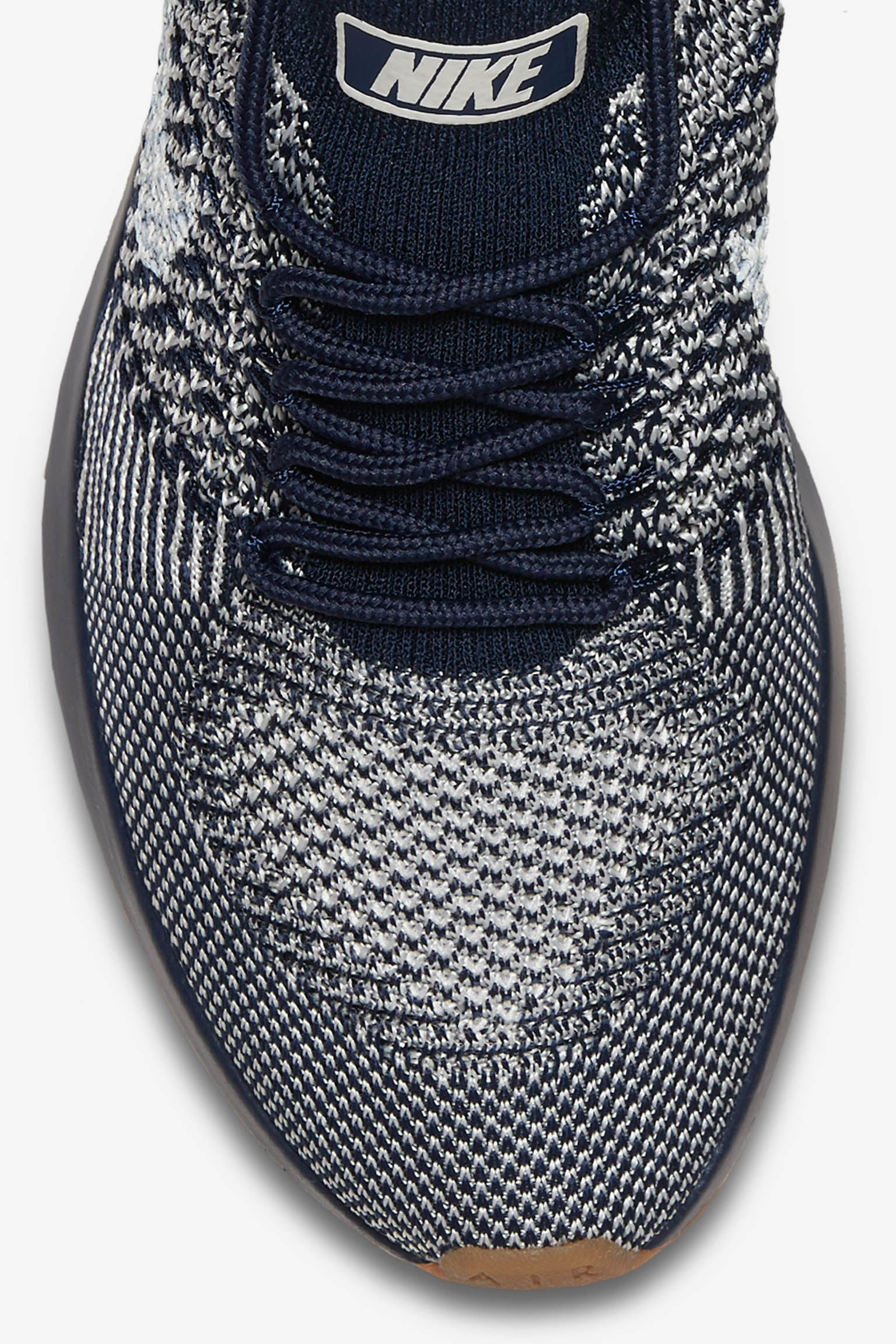 d7354be5ffb7 ... Nike Women s Air Zoom Mariah Flyknit Racer Premium College Navy Gum .