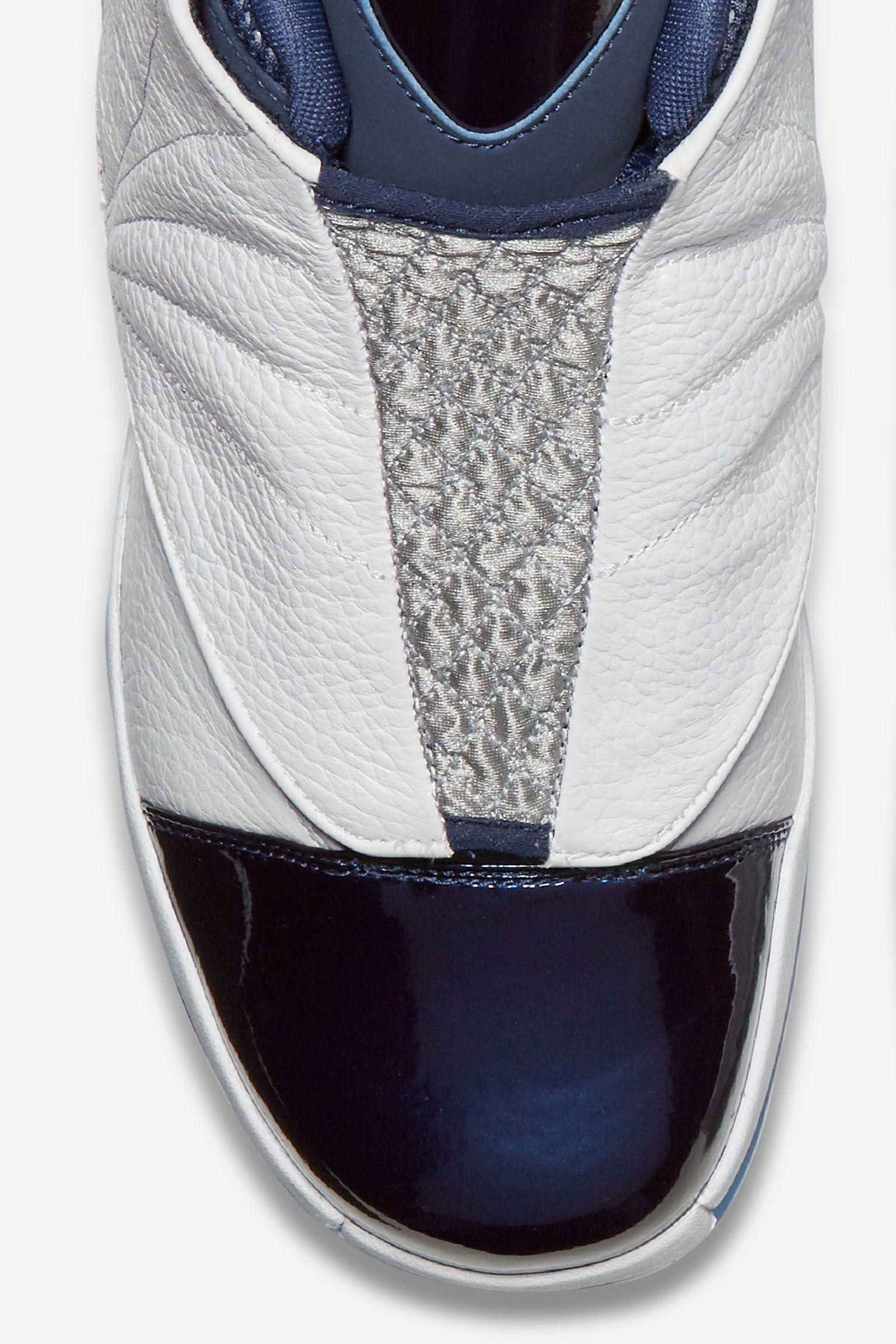 Air Jordan 16 Retro 'Midnight Navy & White'