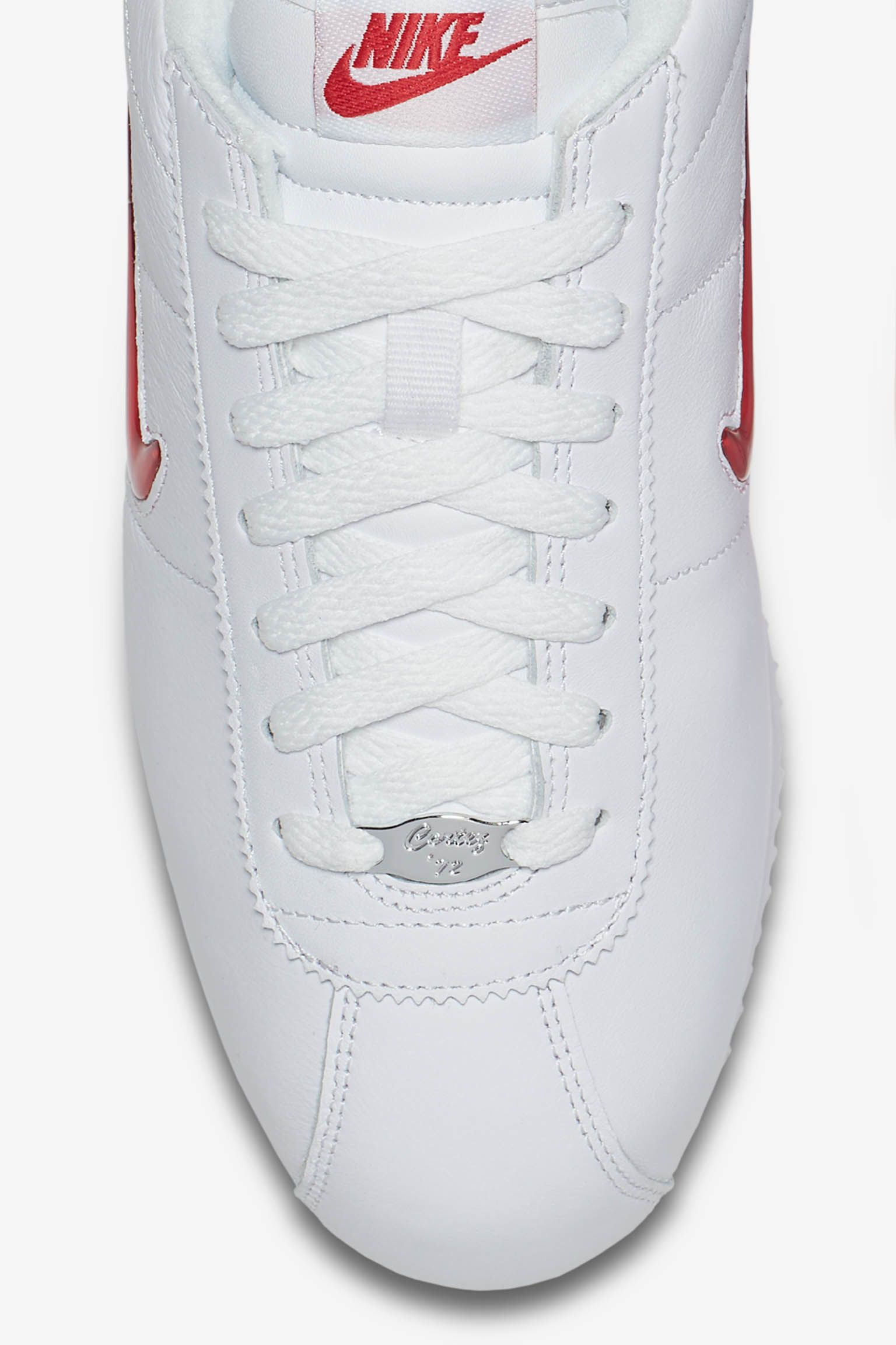 Nike Cortez Jewel 'White & University Red' Release Date