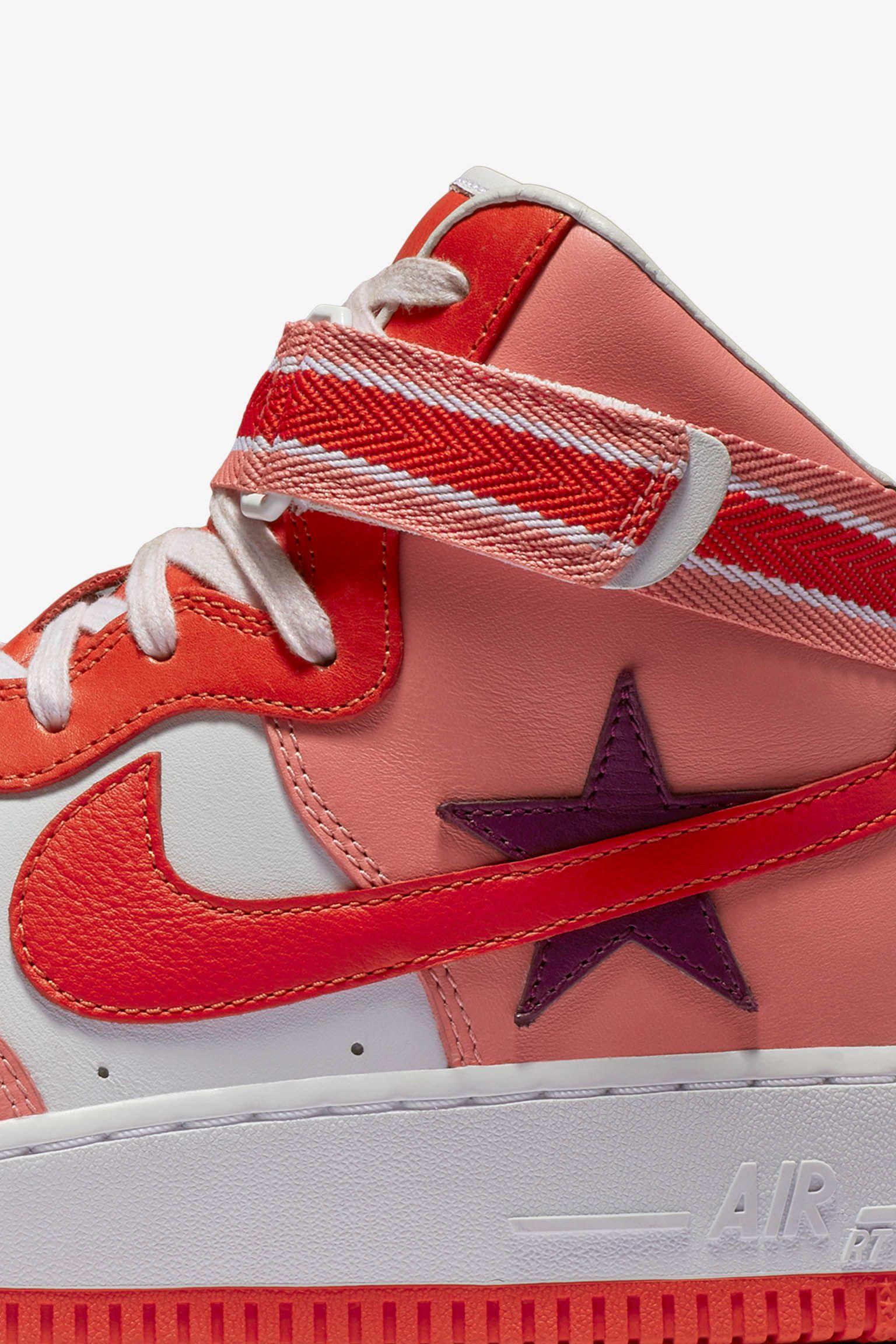 Nike Air Force 1 High x RT 'Sunblush & Bordeaux' Release Date