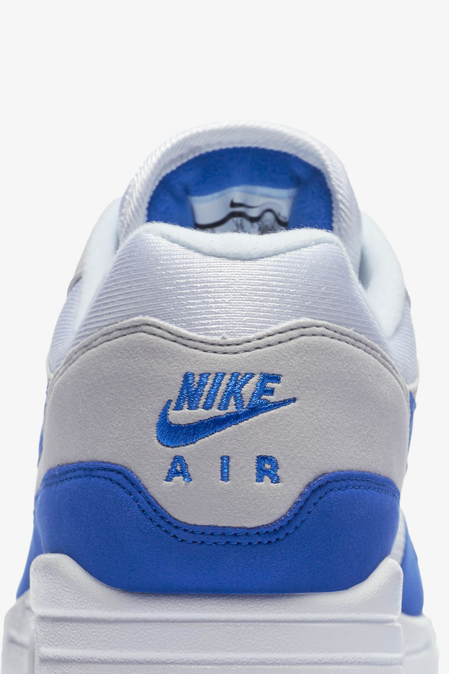 half off 8a73c 9c458 ... promo code for nike air max 1 anniversary white neutral grey game royal  release date 81e48 ...