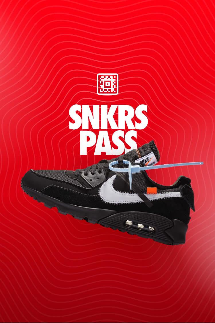 SNKRS Pass: The Ten: Air Max 90 'Black' Select Cities