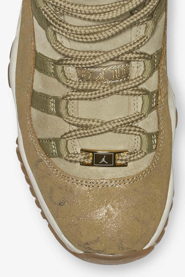 Women's Air Jordan 11 'Neutral Olive & Sail & Gum Light Brown' Release Date