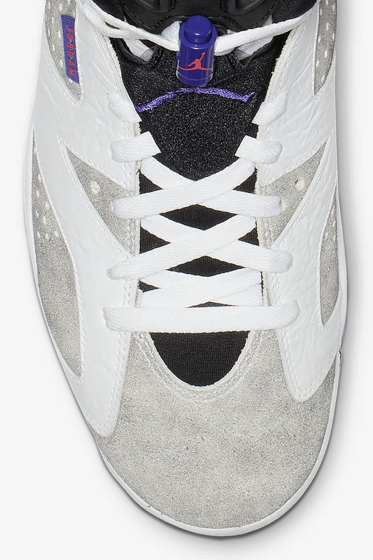 Air Jordan 6 'White & Dark Concord & Black' Release Date