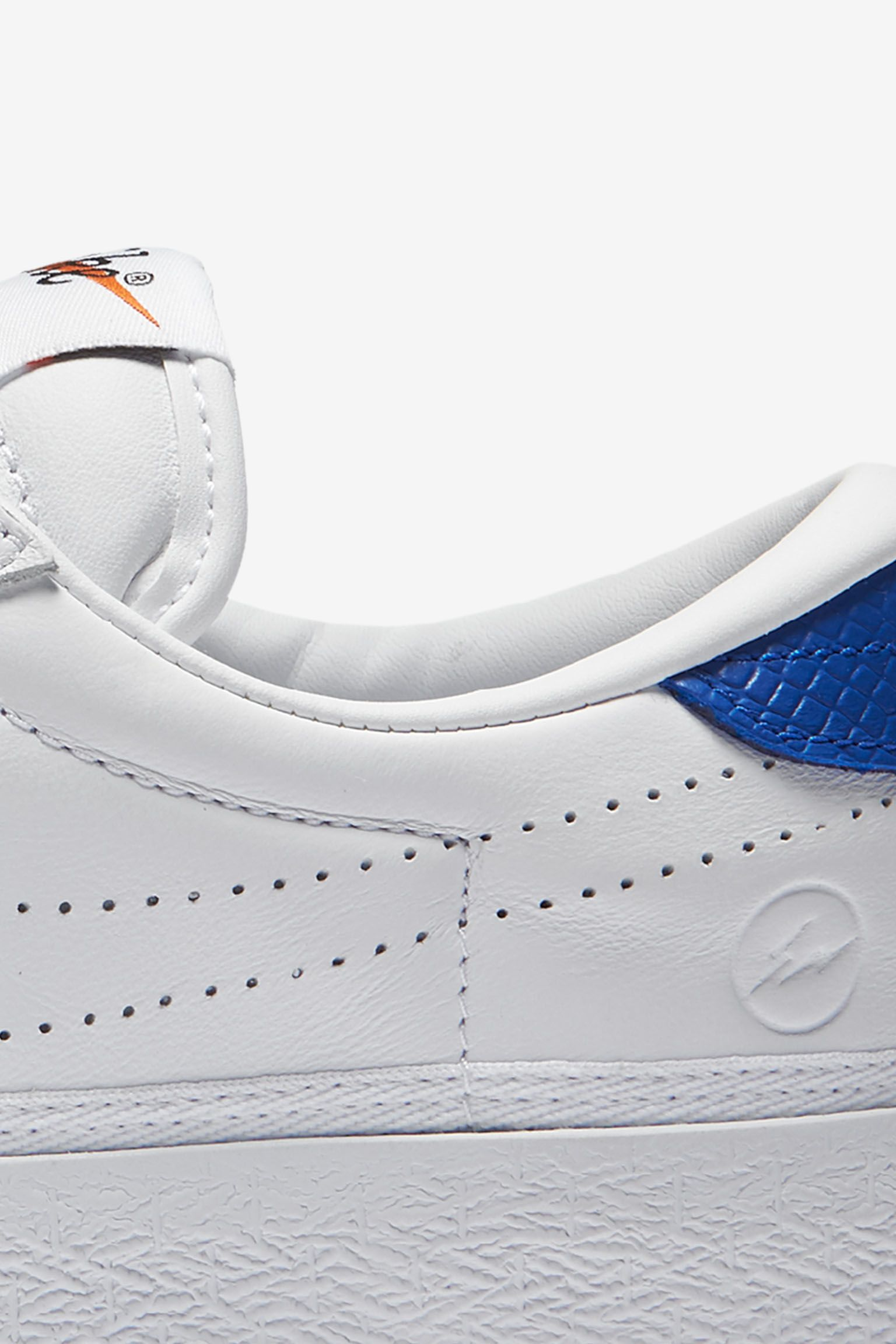 Women's NikeLab x Fragment Zoom Tennis Classic 'White & Game Royal'
