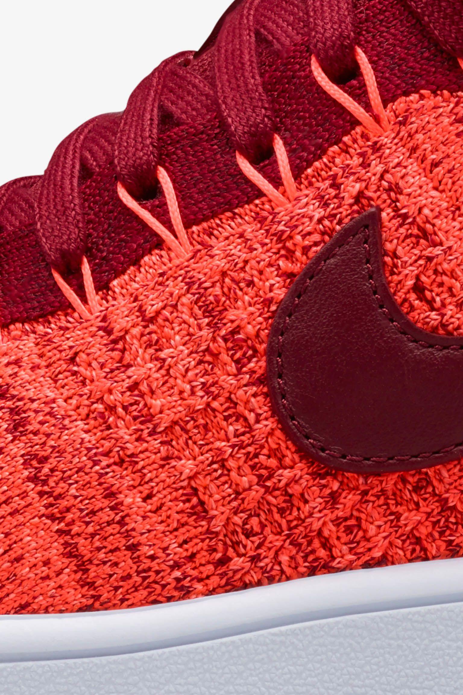 Women's Nike Air Force 1 Ultra Flyknit 'Total Crimson' Release Date