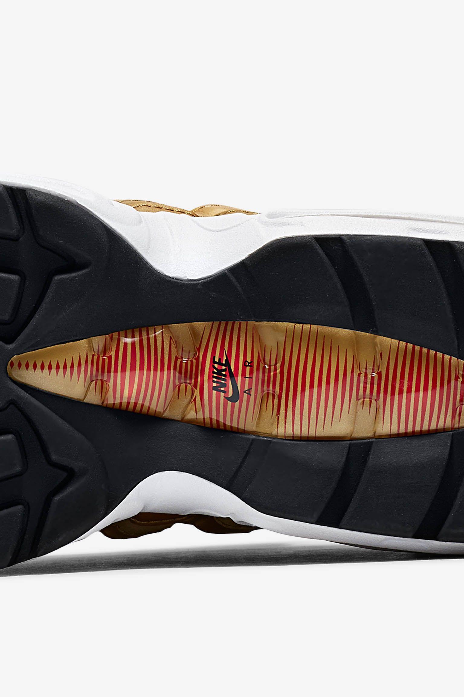 Women's Nike Air Max 95 'Metallic Gold' Release Date