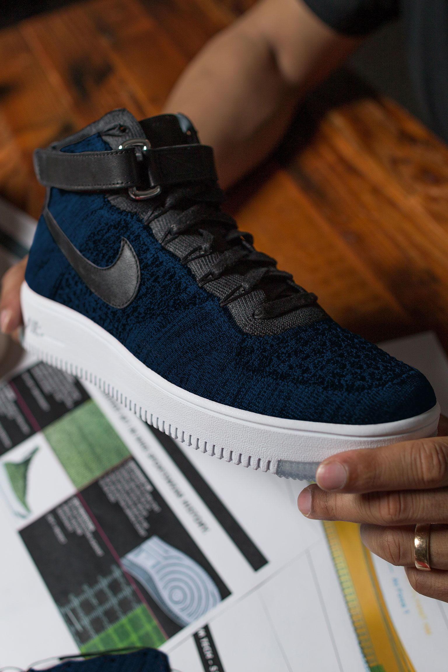 Darrere del disseny: Nike Air Force 1 Ultra Flyknit