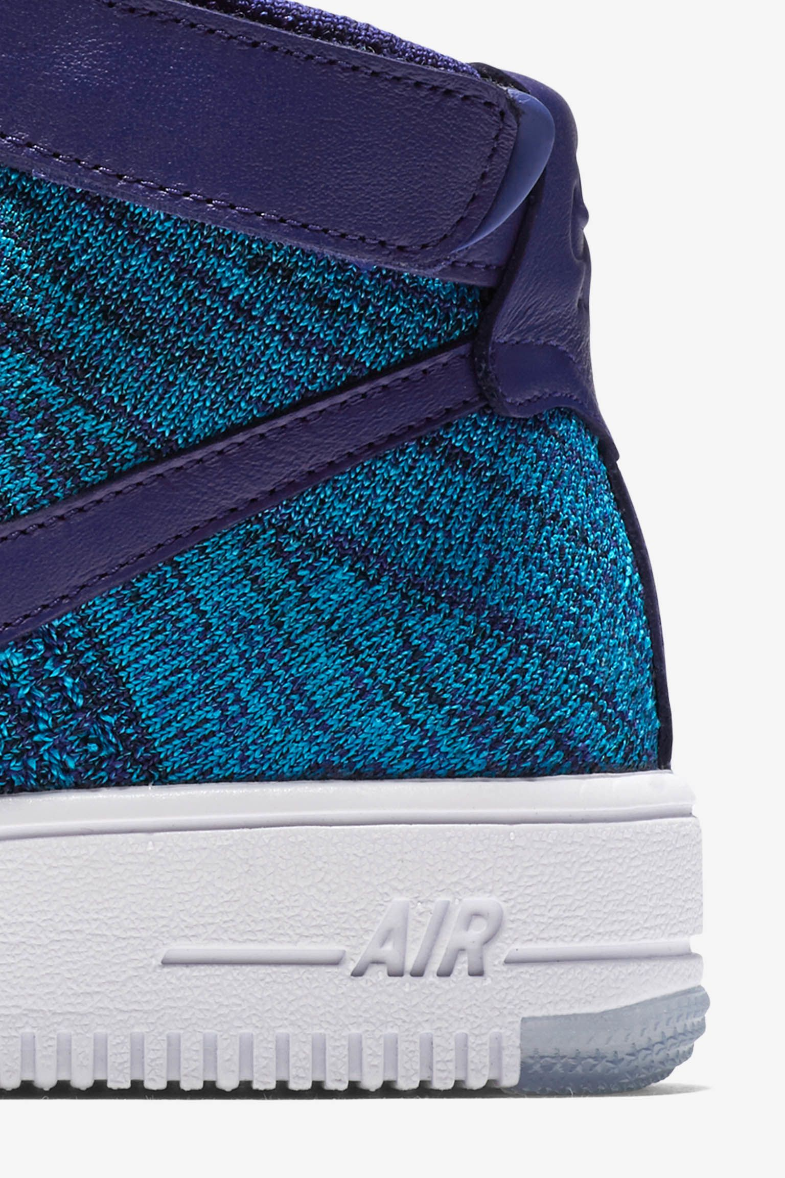 Women's Nike Air Force 1 Ultra Flyknit 'Blue Lagoon' Release Date