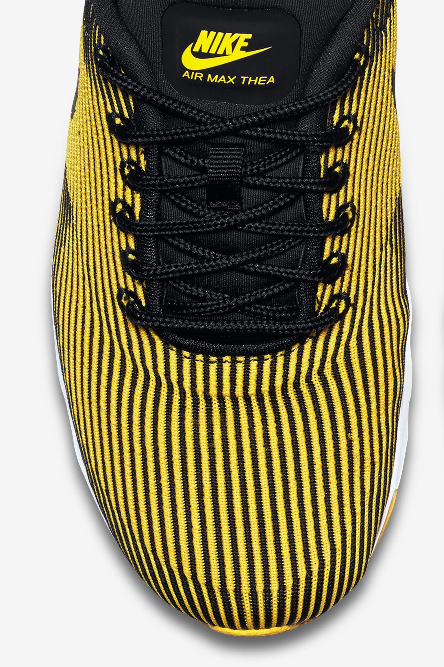 Women's Nike Air Max Thea Jacquard 'Varsity Maize & Black'
