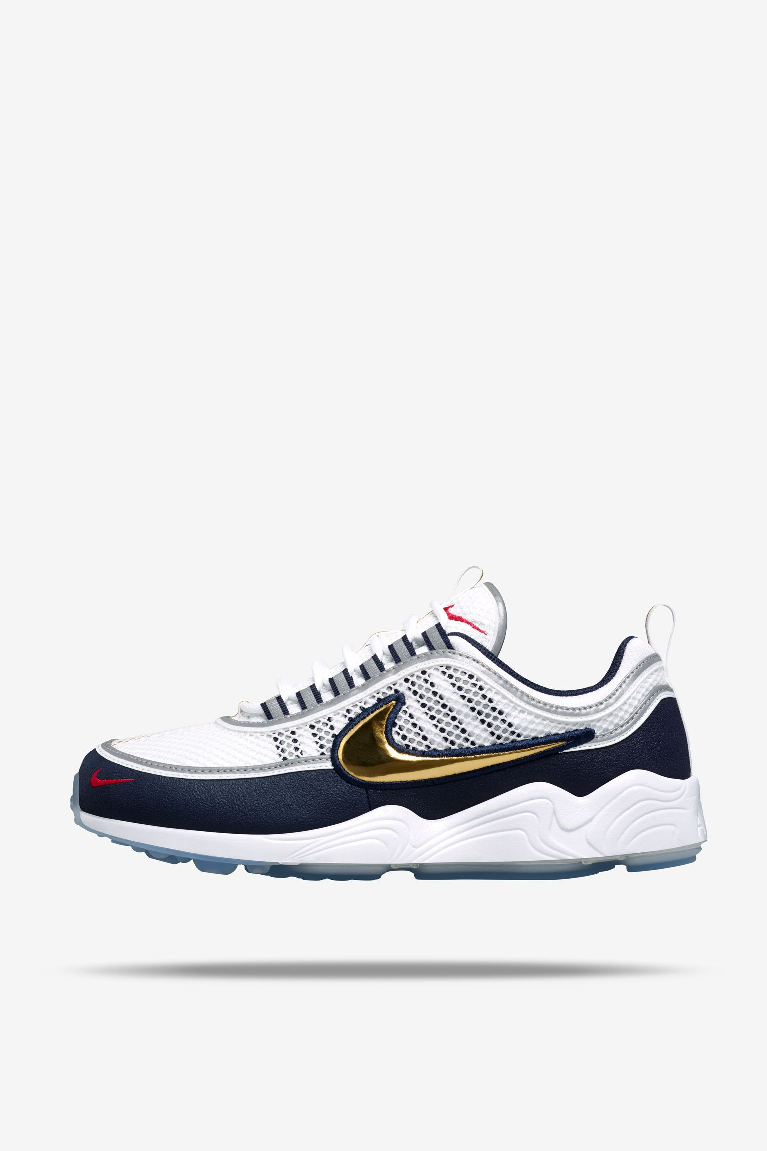 "Data de llançament de les NikeLab Air Zoom Spiridon ""White & Gold"""