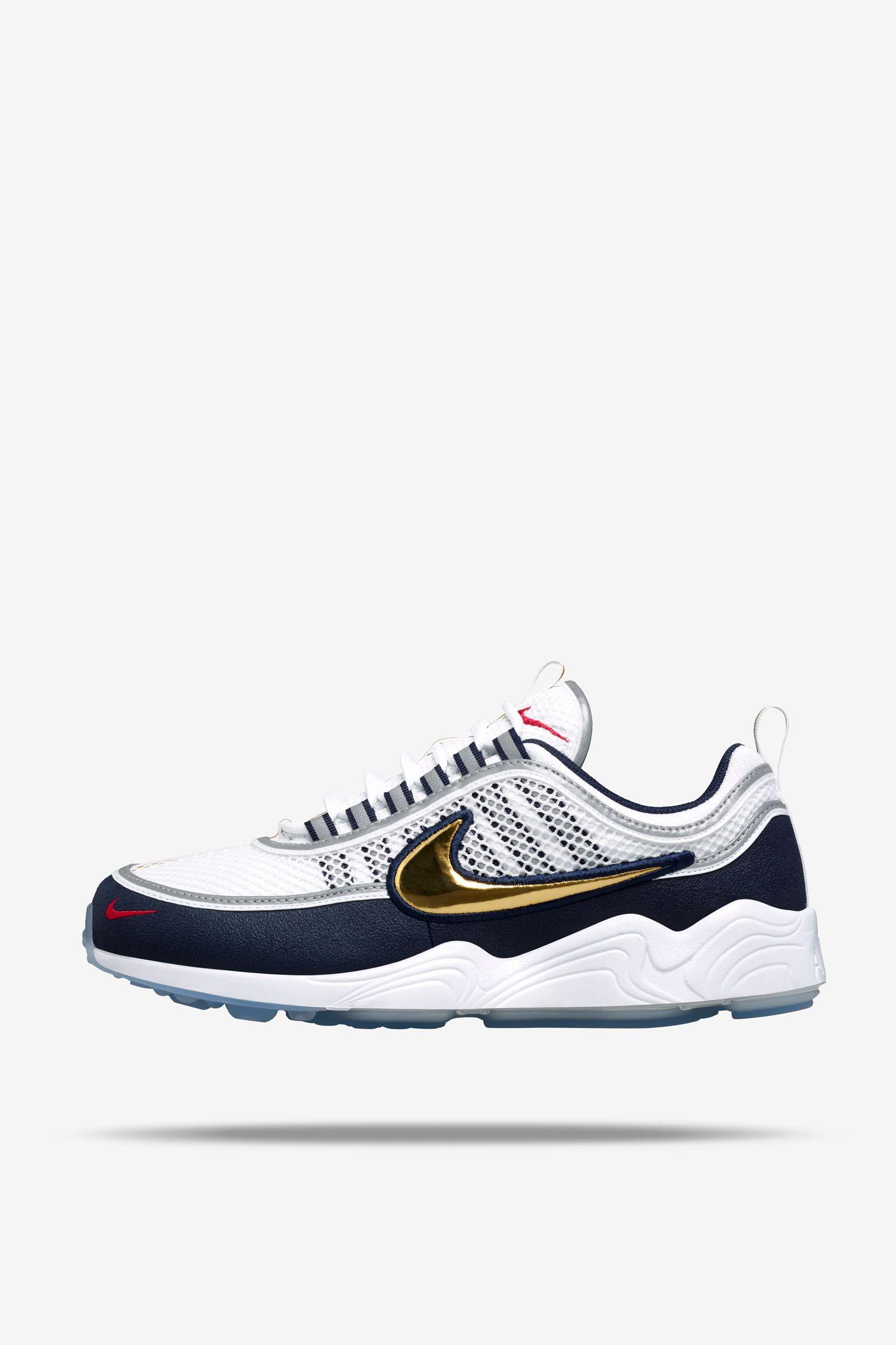 NikeLab Air Zoom Spiridon 'White & Gold' Release Date