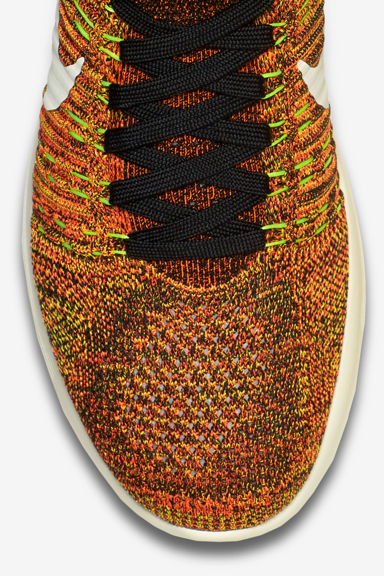 Nike LunarEpic Flyknit 'Hyper Orange & Black'
