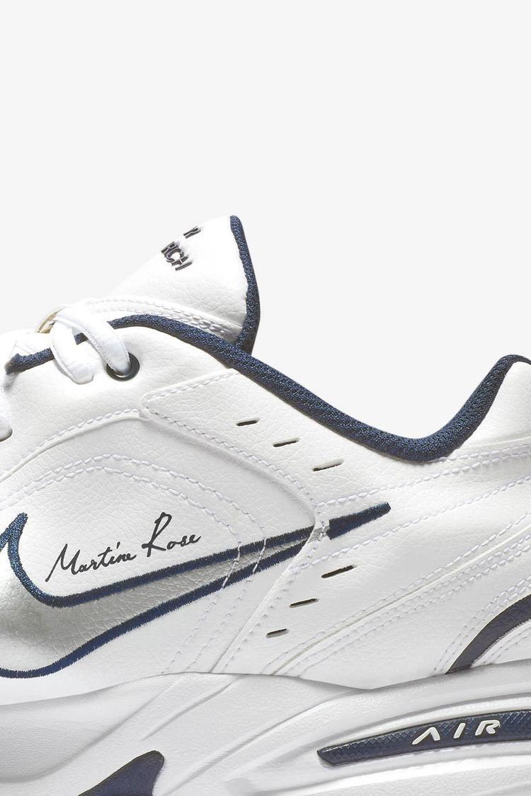Nike Air Monarch 4 Martine Rose 'White' Release Date