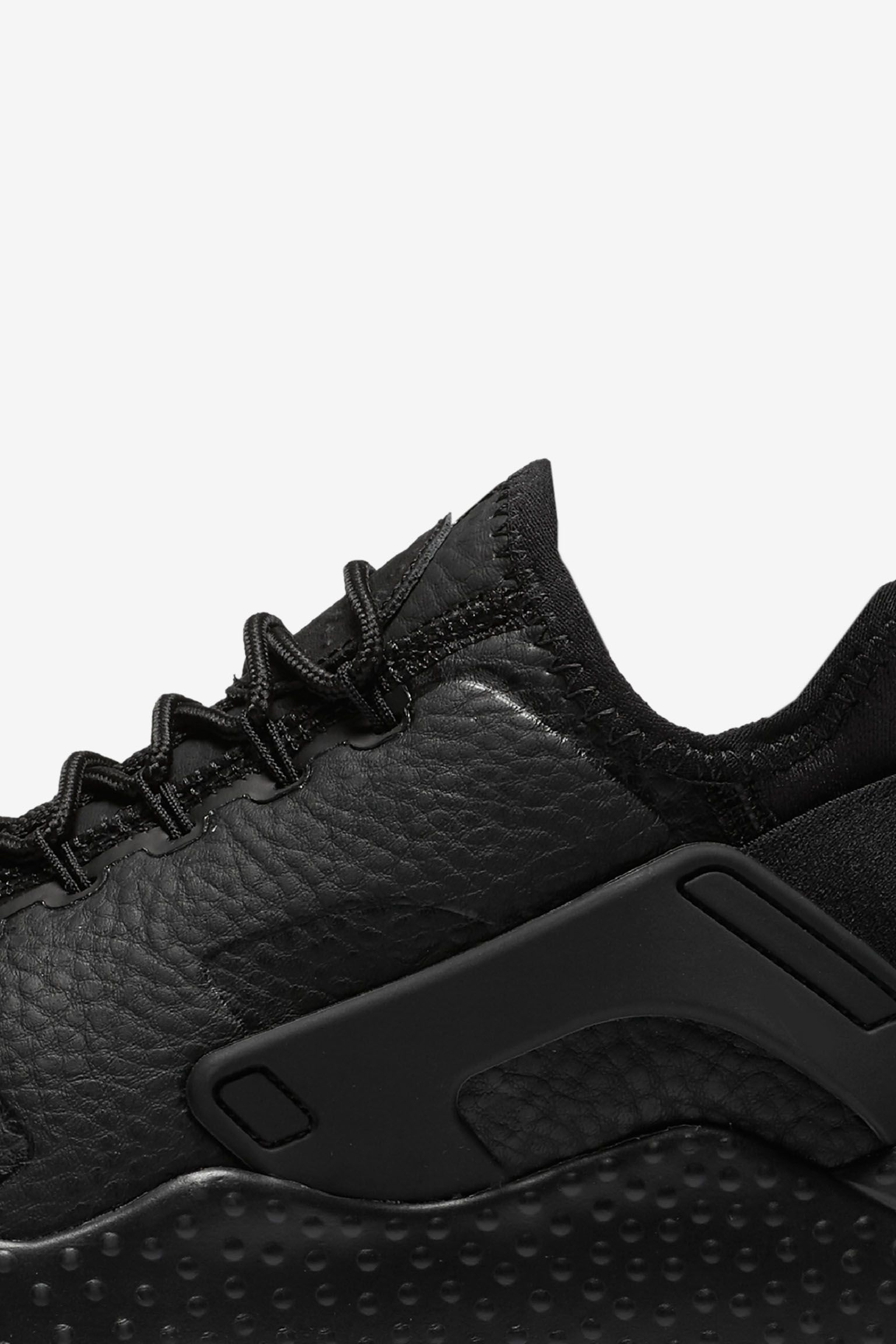 Women's Nike Air Huarache Ultra Premium 'Triple Black'