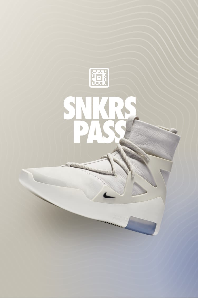 Air Fear of God 1 'Light Bone' SNKRS Pass Select Cities